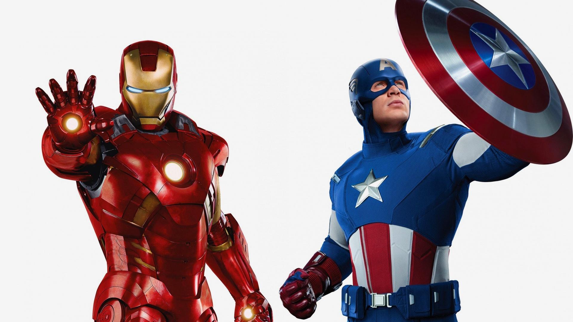 The Avengers Iron Man Captain America 1920x1200 Hd