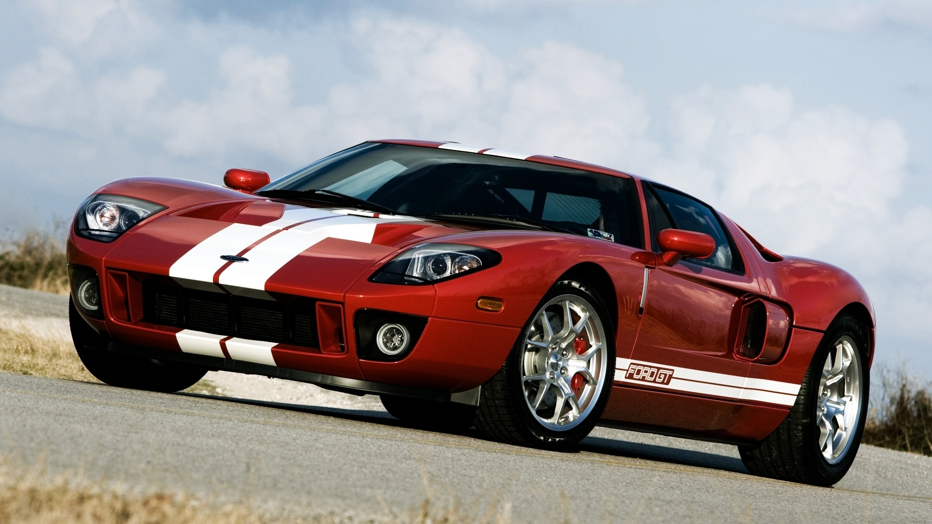 Wallpaper Ford Gt 700 Supercar Red Color 1920x1200 Hd Picture Image
