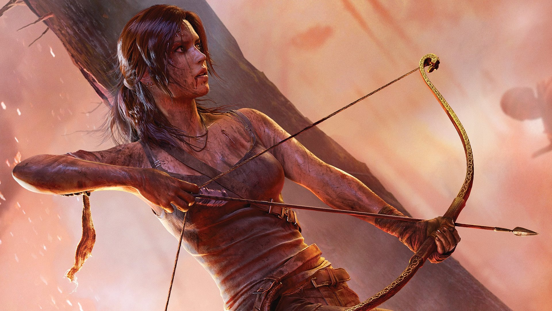Tomb Raider 2013 Wallpaper: Wallpaper Tomb Raider 2013 HD 1920x1080 Full HD 2K Picture