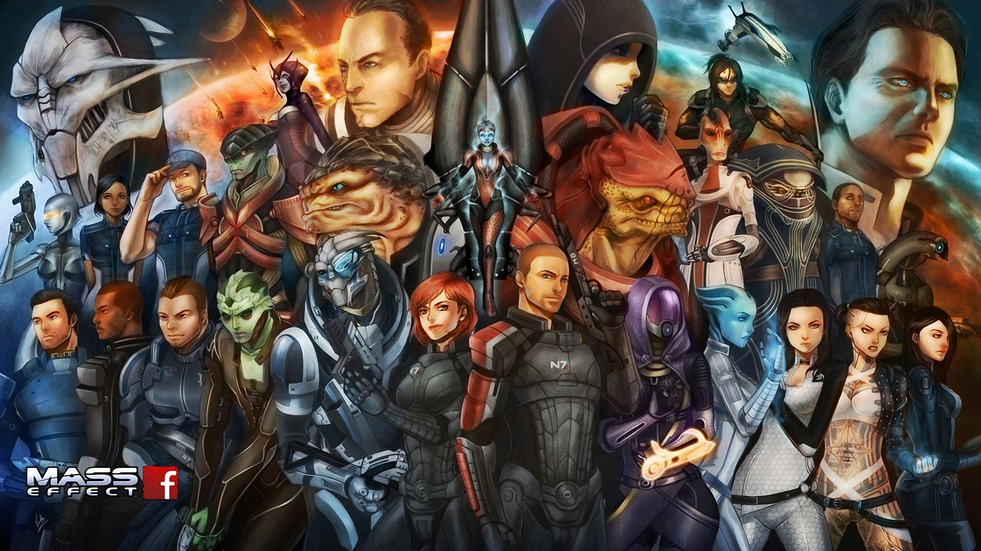 Новость о Mass Effect