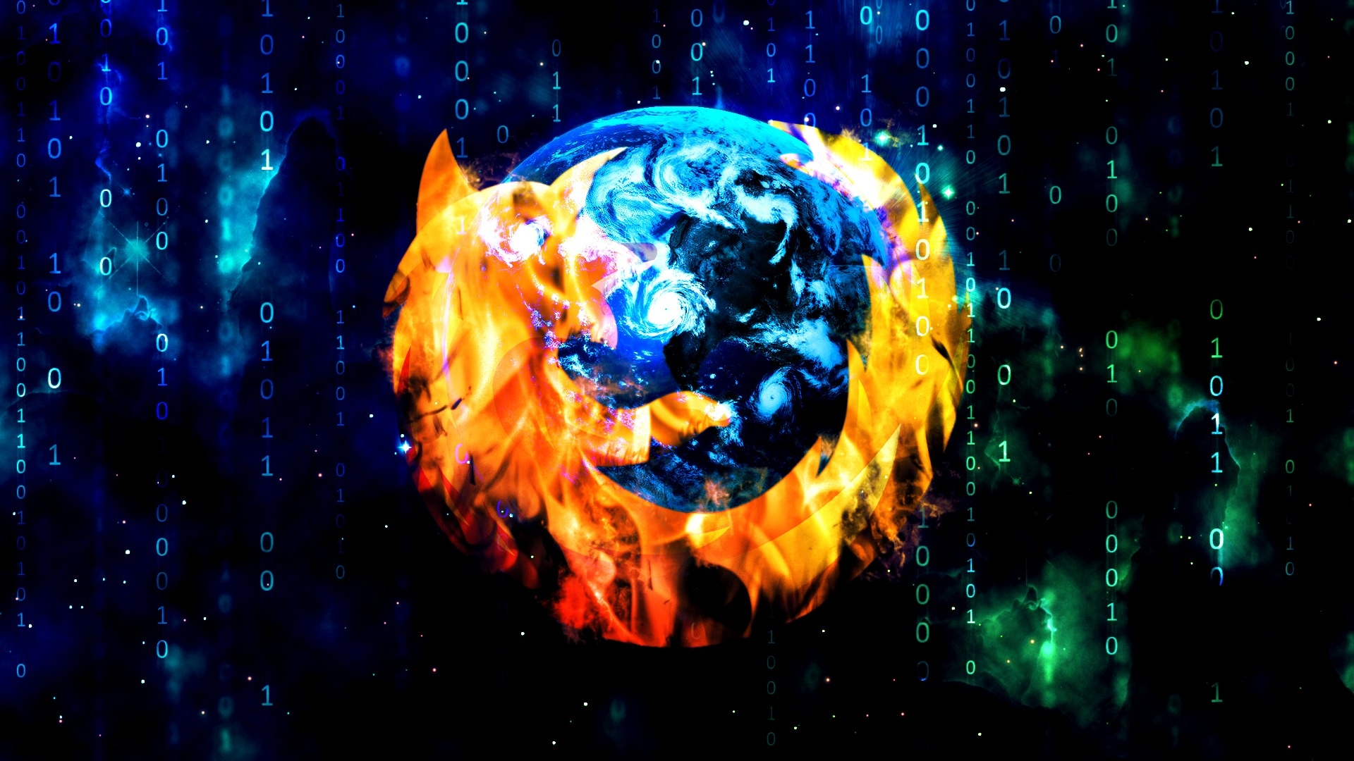 Mozilla Firefox navegador, logo design criativo Papu00e9is de Parede ...
