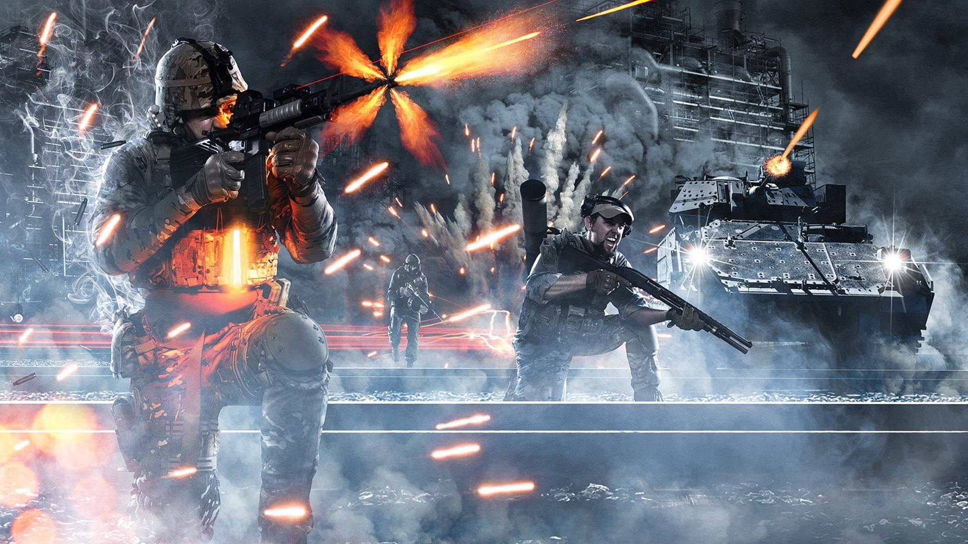 Battlefield4の激しい戦い