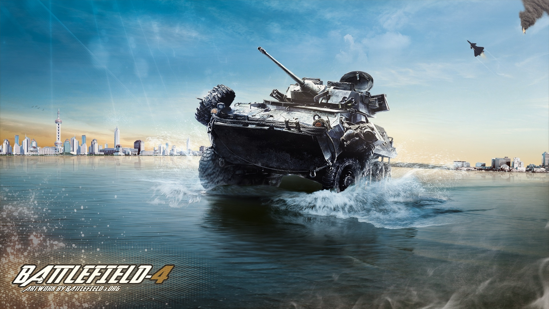 Battlefield4の装甲車