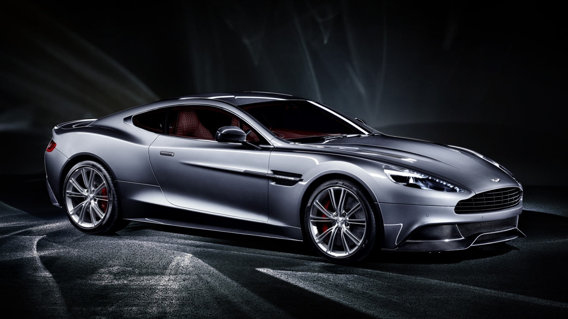 Fondos De Pantalla 2013 Aston Martin Vanquish Coche Plateado