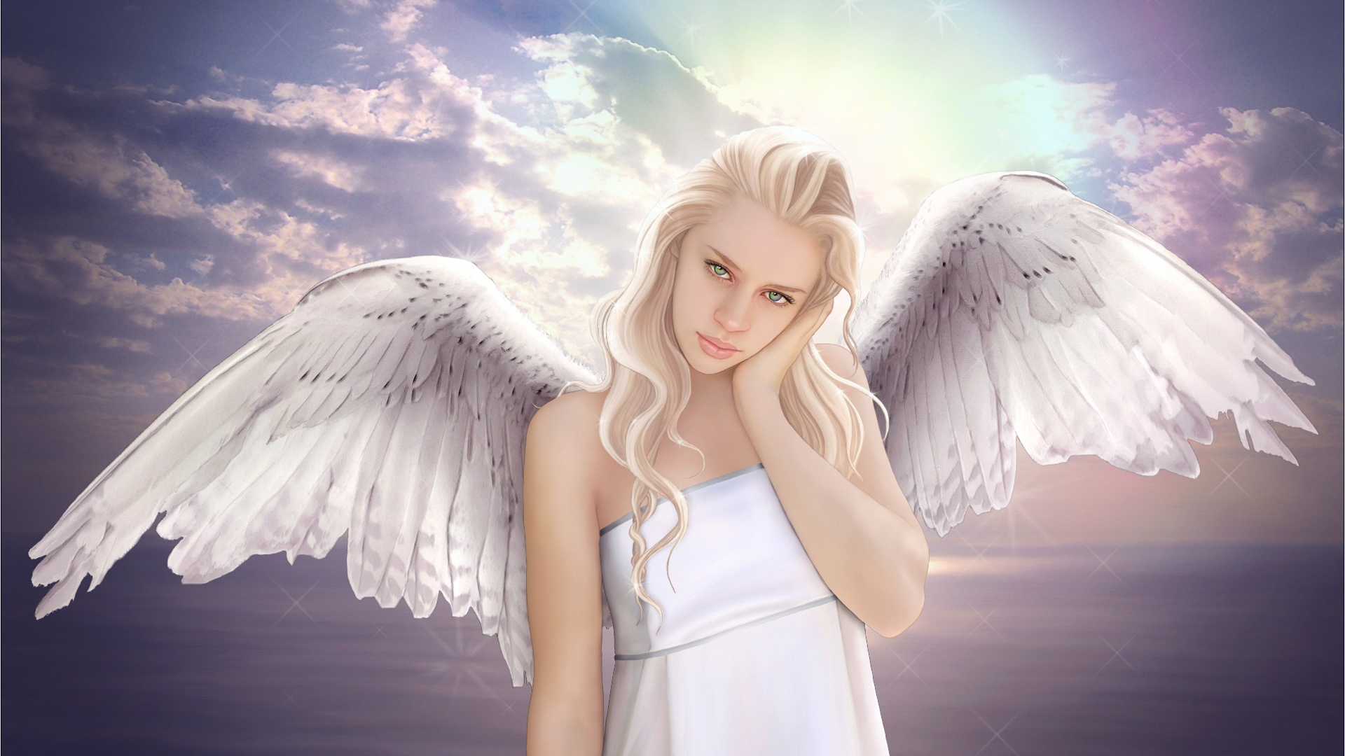 fantasy angel wings