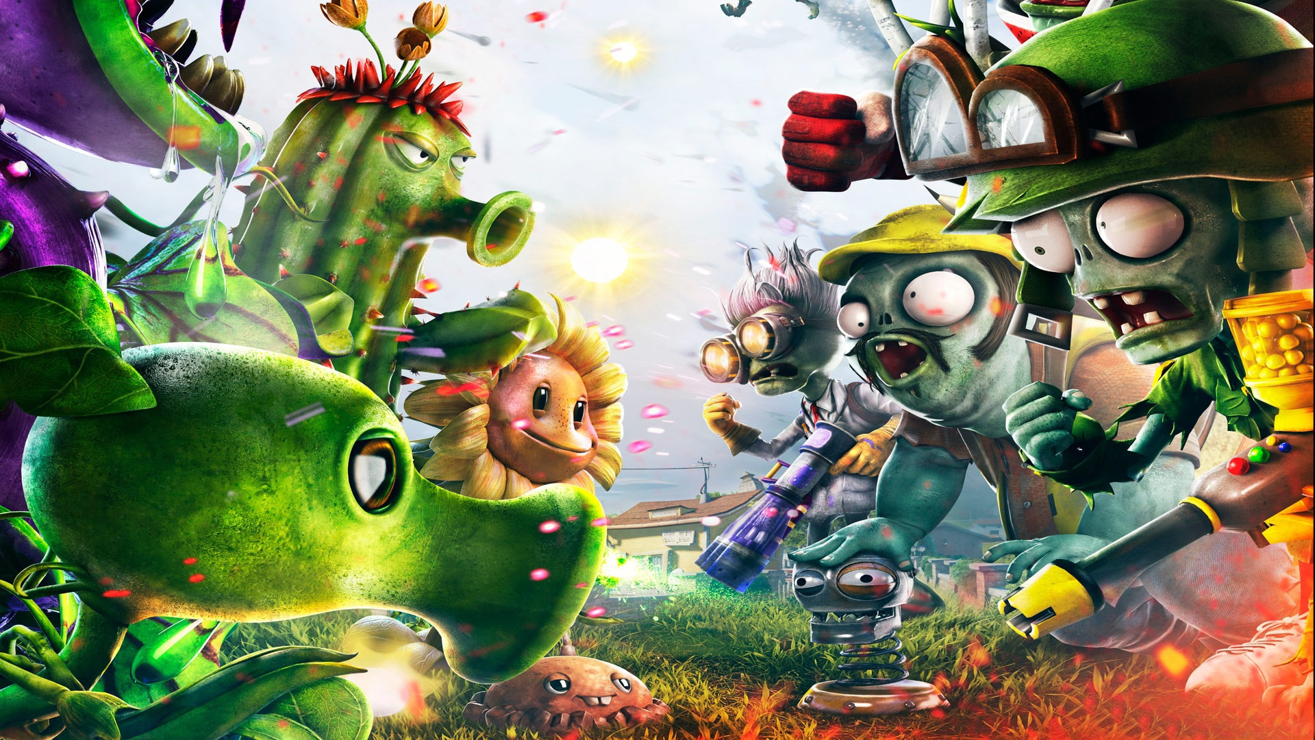 Plant Vs Zombies 2 Wallpaper: Wallpaper Plants Vs Zombies 2 1920x1080 Full HD Picture, Image