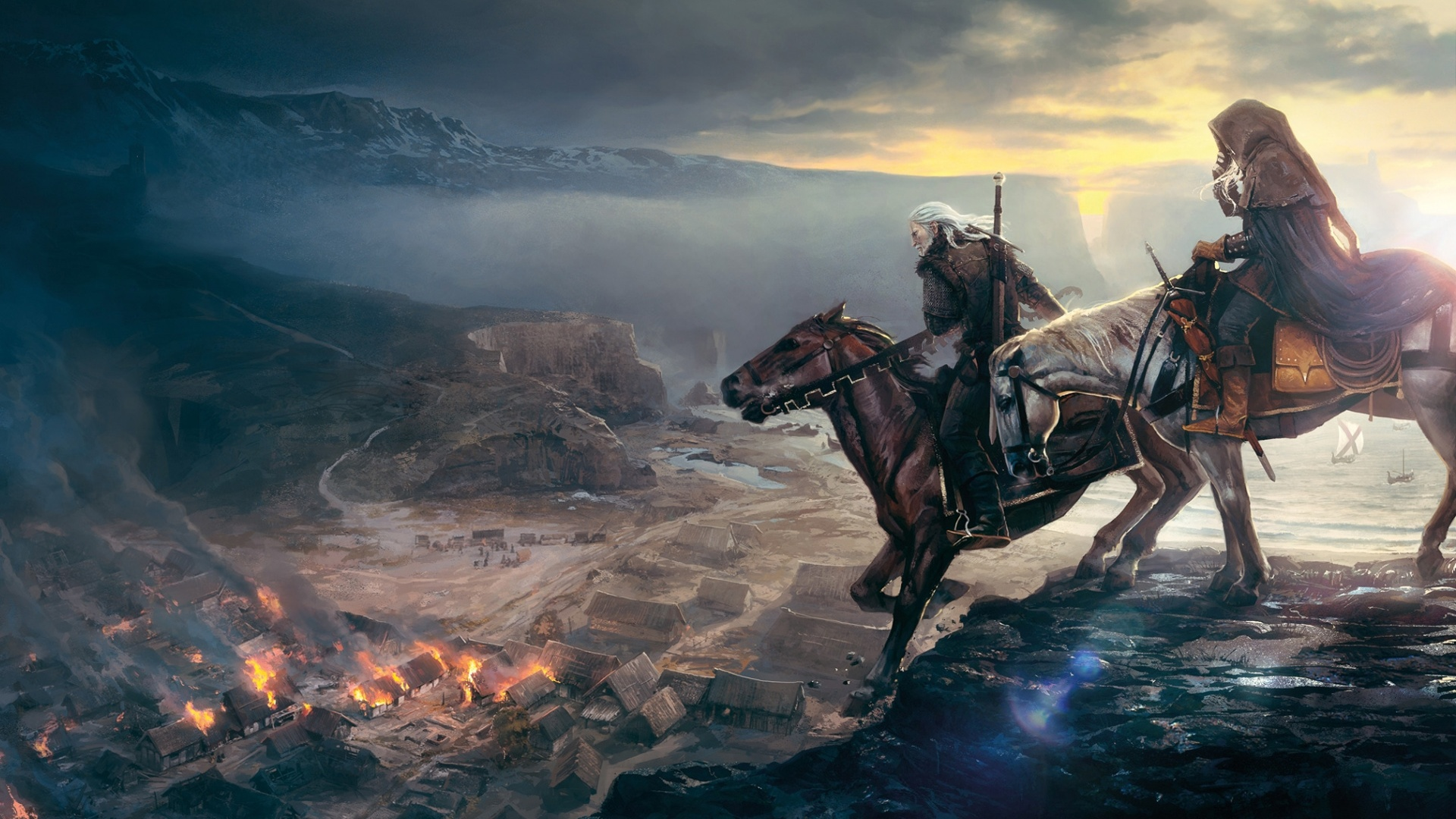 The Witcher 3 1080 X 2160 Wallpaper: Wallpaper The Witcher 3: Wild Hunt 2013 1920x1200 HD