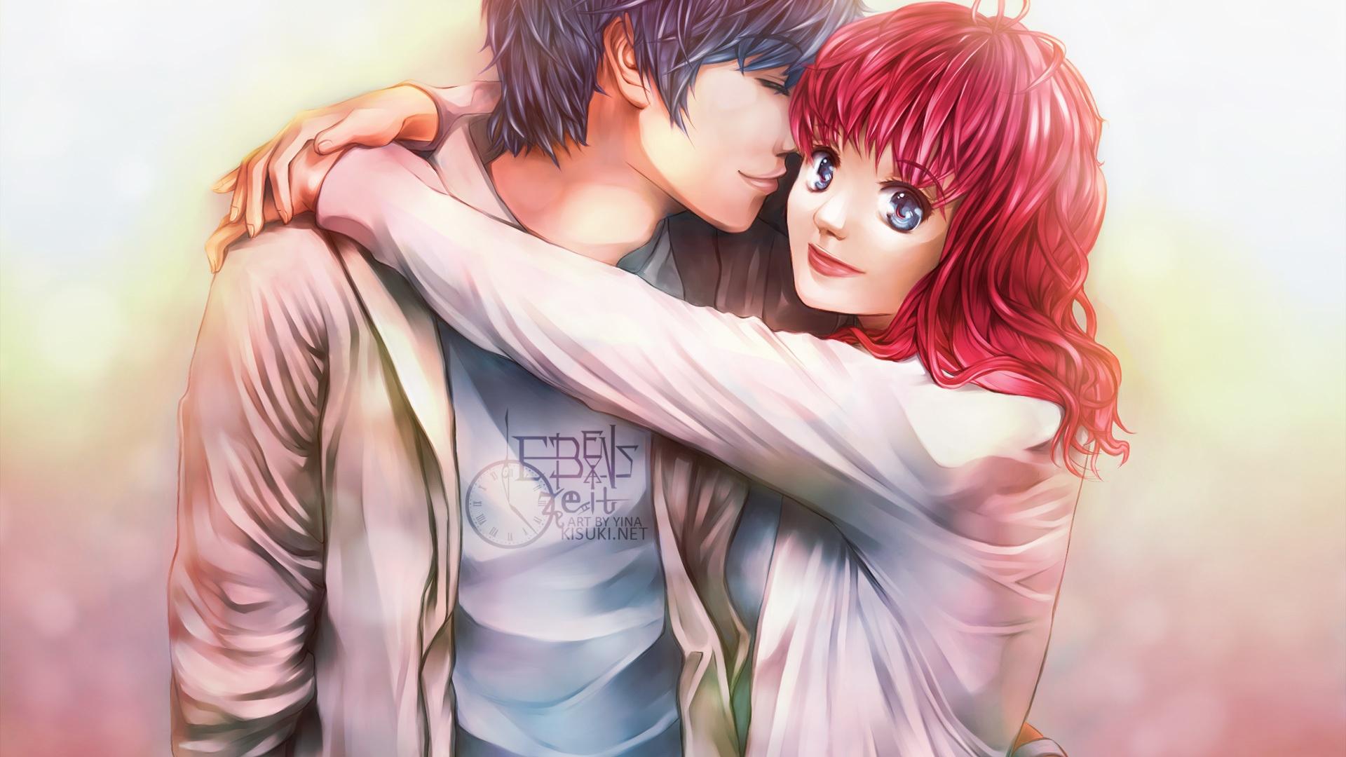 Anime Jungen Und Mädchen Liebhaber 1920x1080 Full Hd 2k