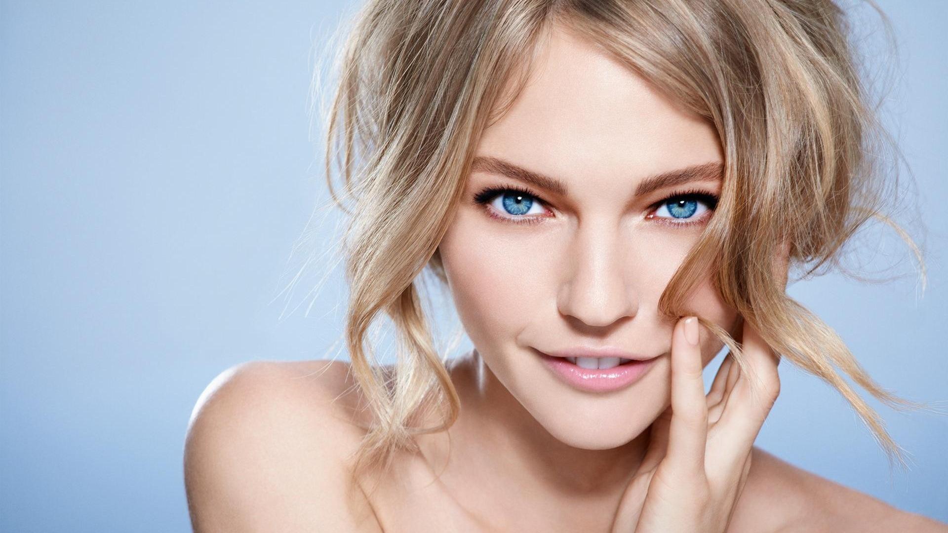純粋な女の子、青い目 壁紙 - 1920x108... 純粋な女の子、青い目 壁紙 | 1920