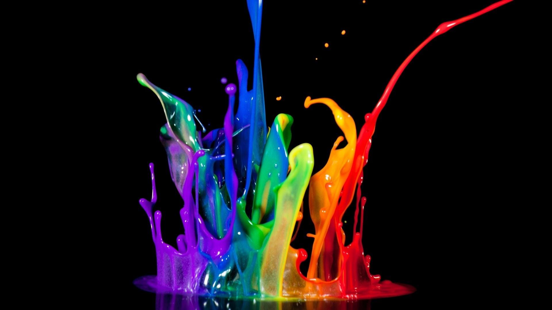 краски абстракция загрузить
