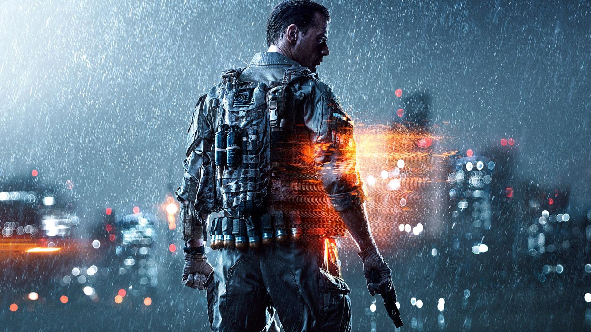 Battlefield4の雨