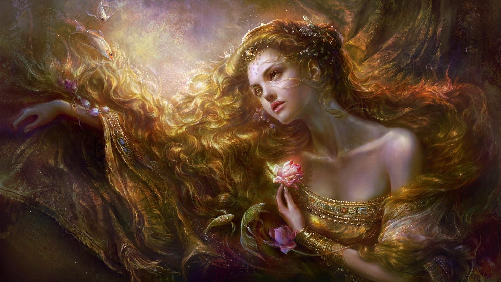 красивую огия девушек