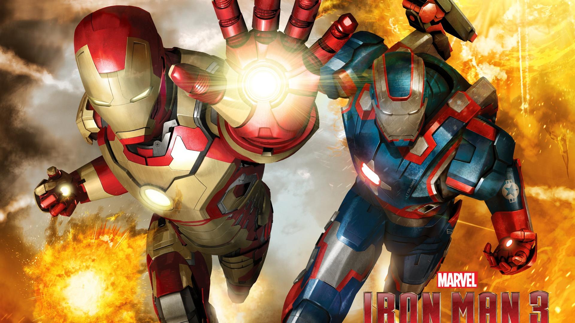 Hd wallpaper iron man - Iron Man 3 Armure Diff 233 Rente Fonds D 233 Cran 1920x1080