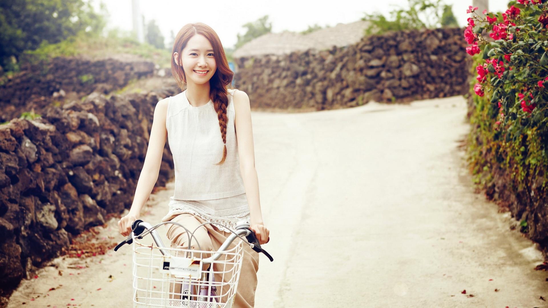 Wallpaper Korea, Girls Generation, Yoona 02 1920x1200 HD
