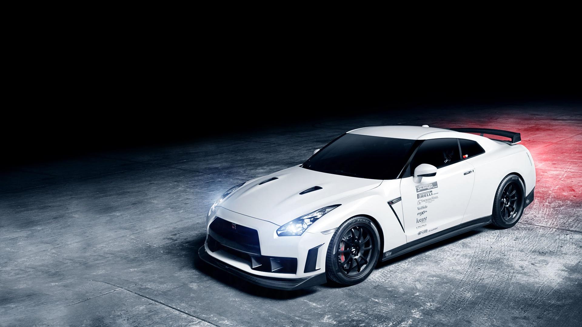 Fondos de pantalla Nissan GTR 1013MM coche blanco ...