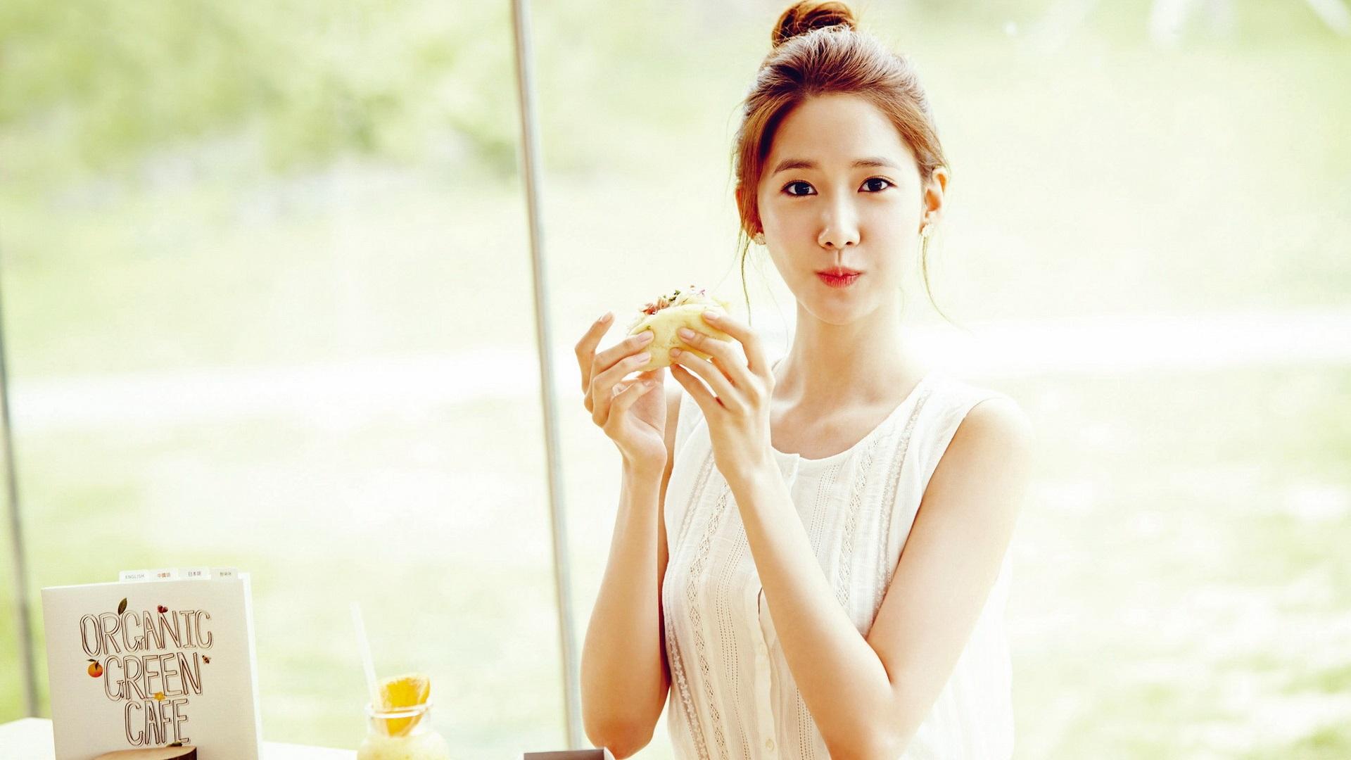 Wallpaper Korea, Girls Generation, Yoona 08 1920x1200 HD