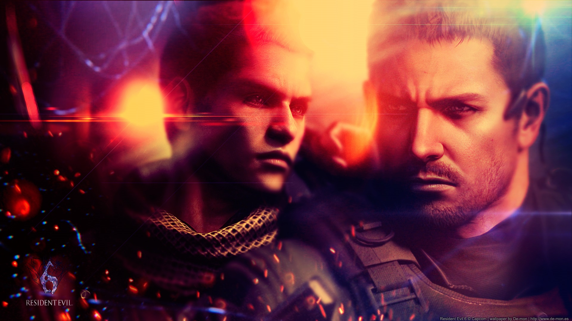Wallpaper Resident Evil 6 Two Soldiers 1920x1080 Full Hd 2k