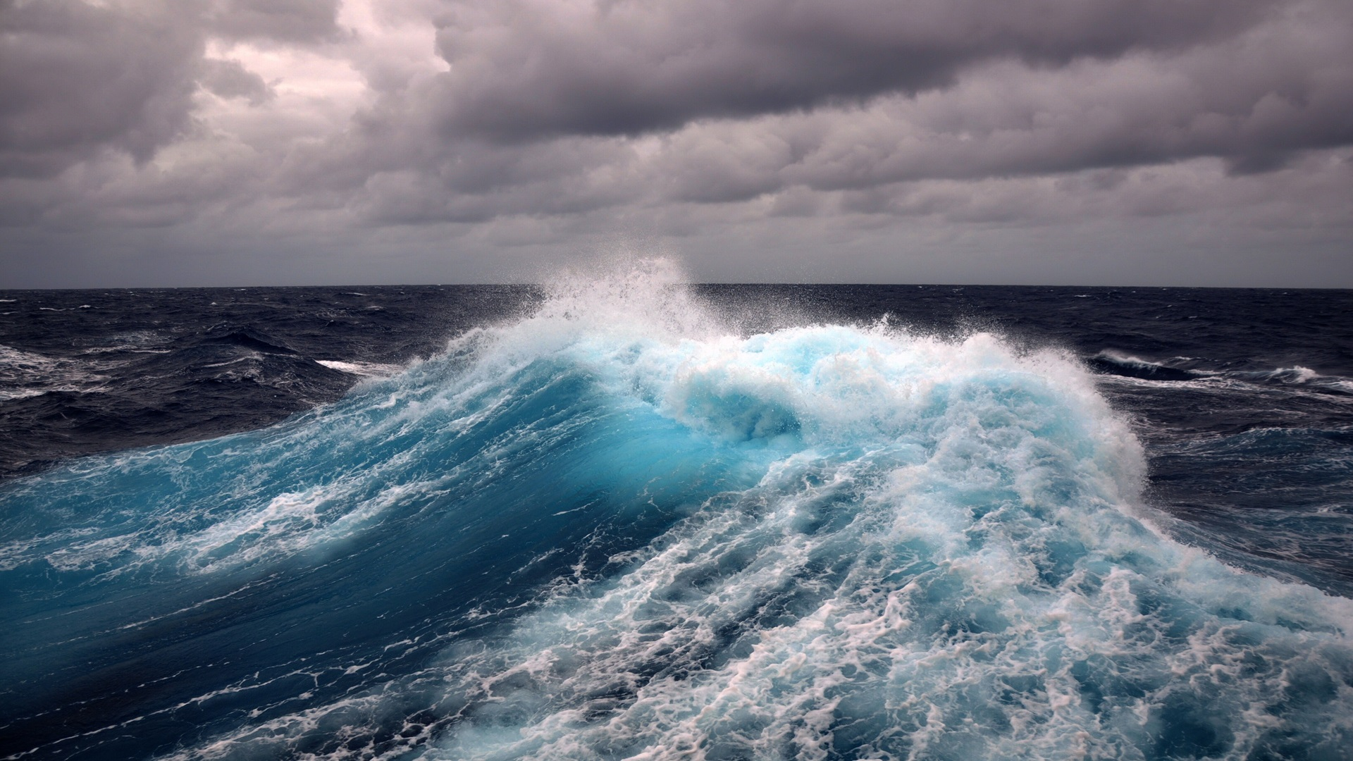 Wallpaper Wind Storm Sea Wave Water 1920x1200 Hd Picture