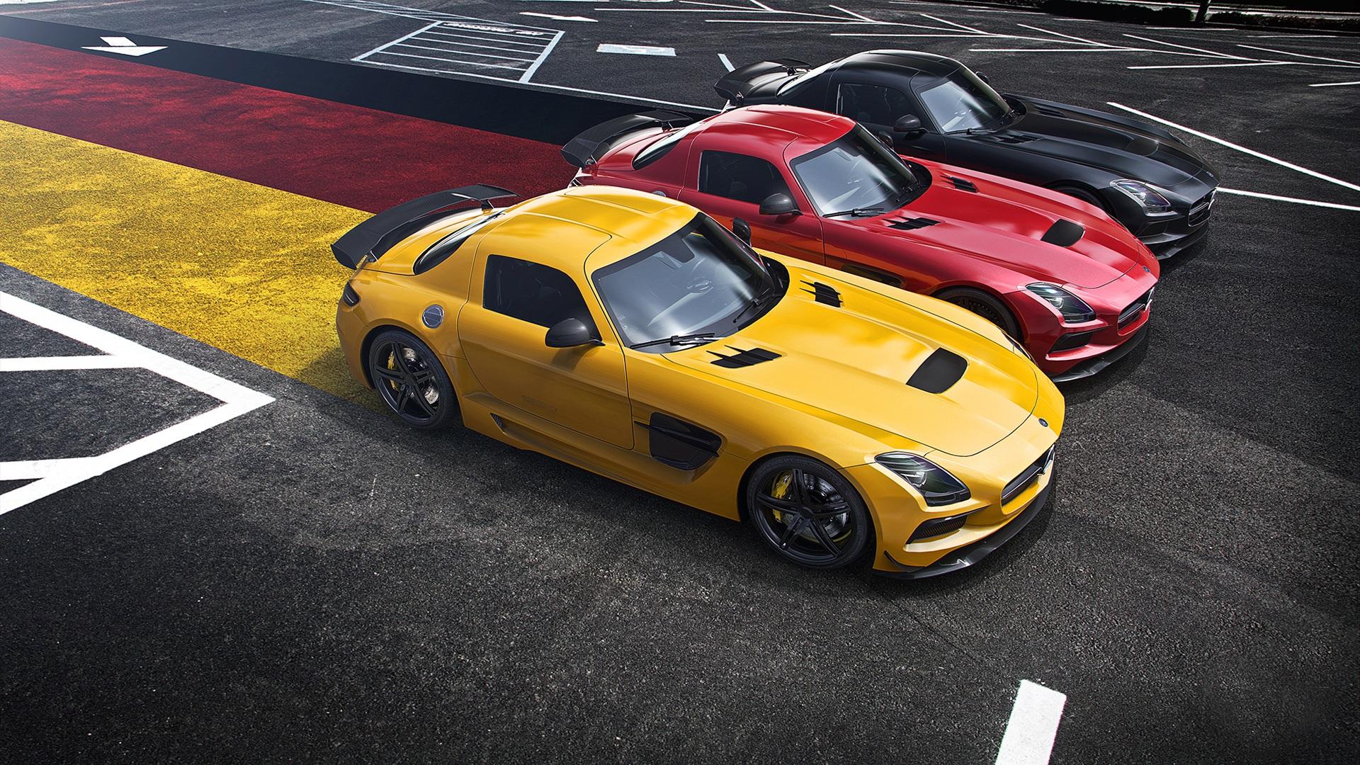 Download wallpaper 1920x1080 mercedes benz amg sls for Mercedes benz supercar