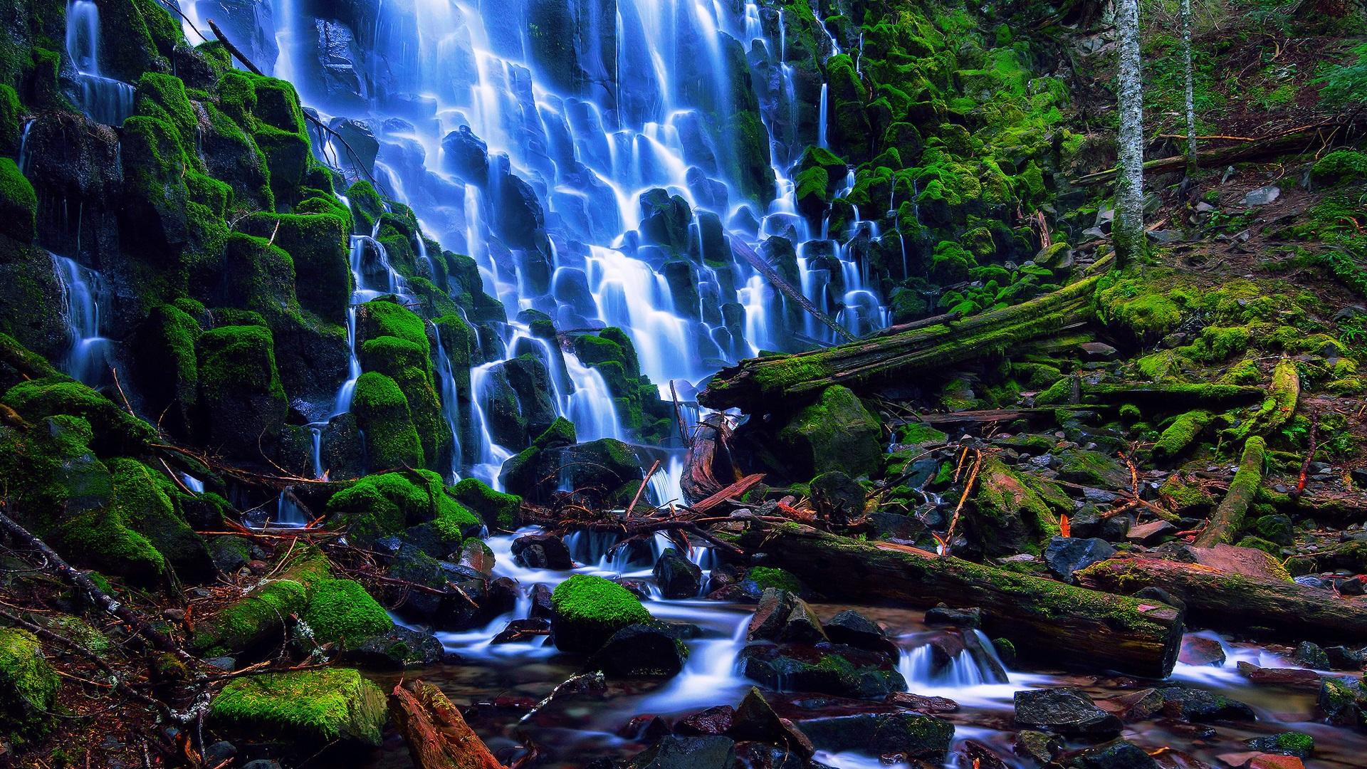 Wallpaper usa nature landscape oregon ramona falls - Oregon nature wallpaper ...