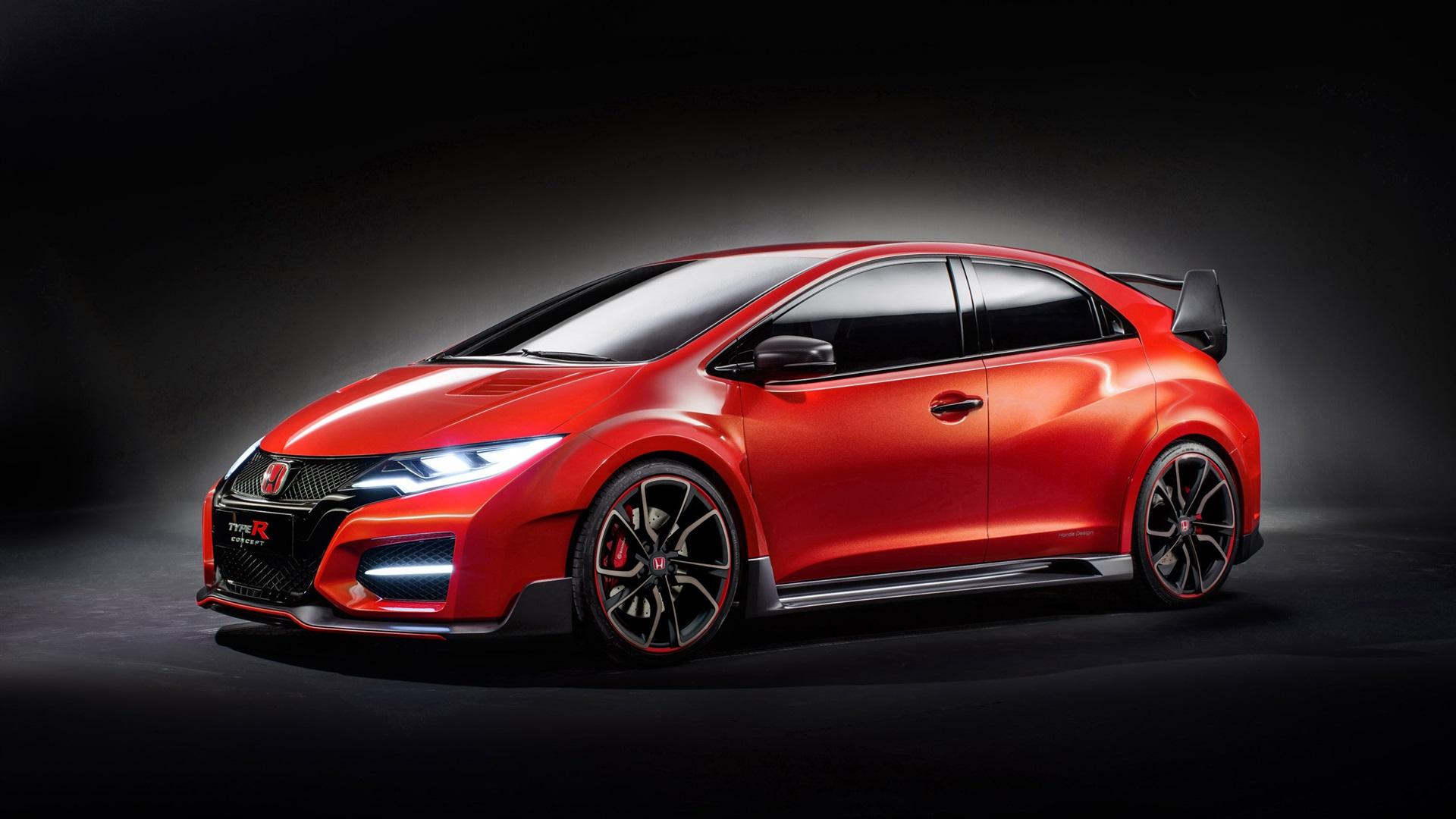 Fonds D'écran 2014 Voiture Honda Civic Type R Concept