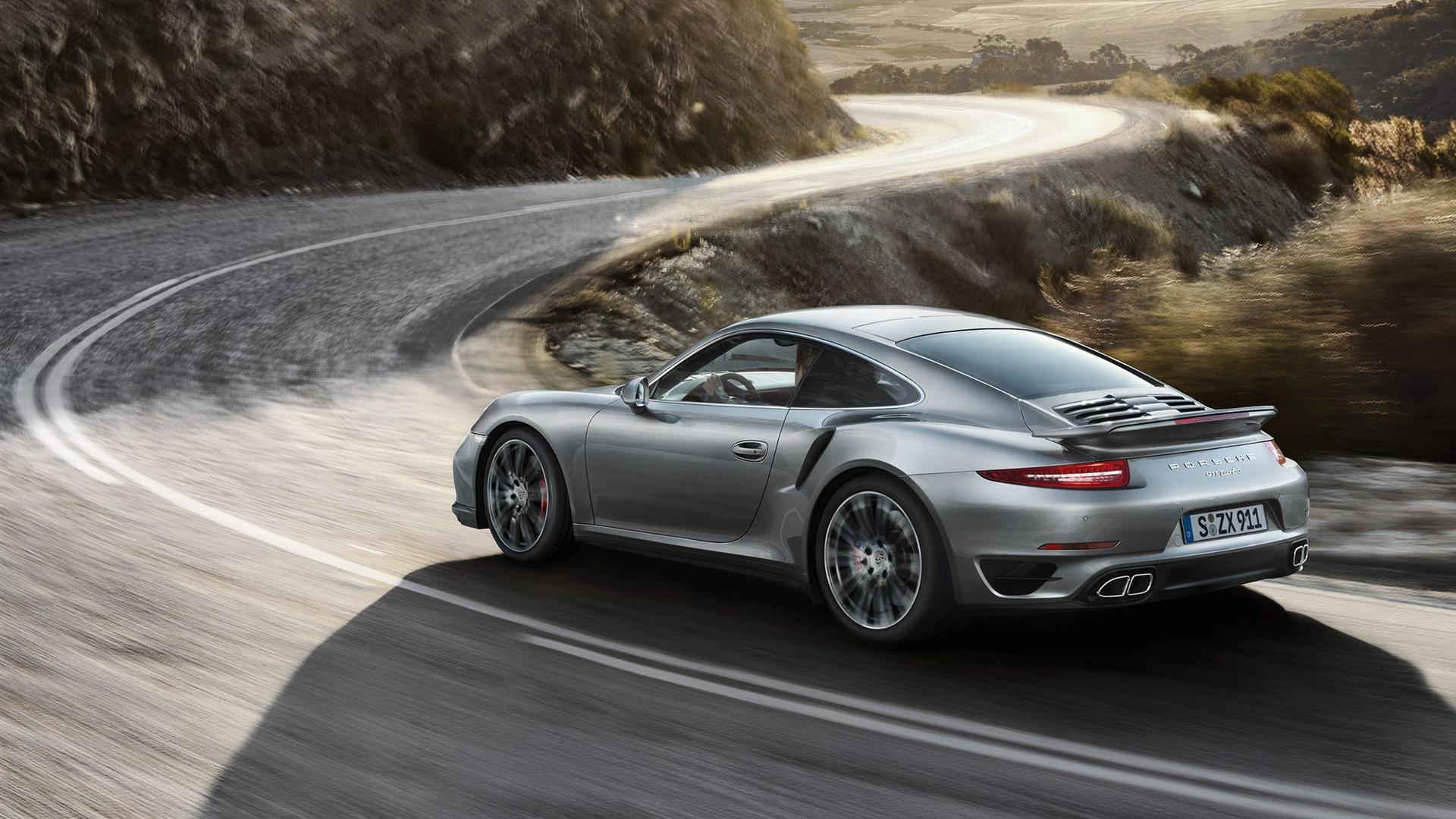 Fondos De Pantalla Porsche 911 Turbo De Velocidad Del Coche