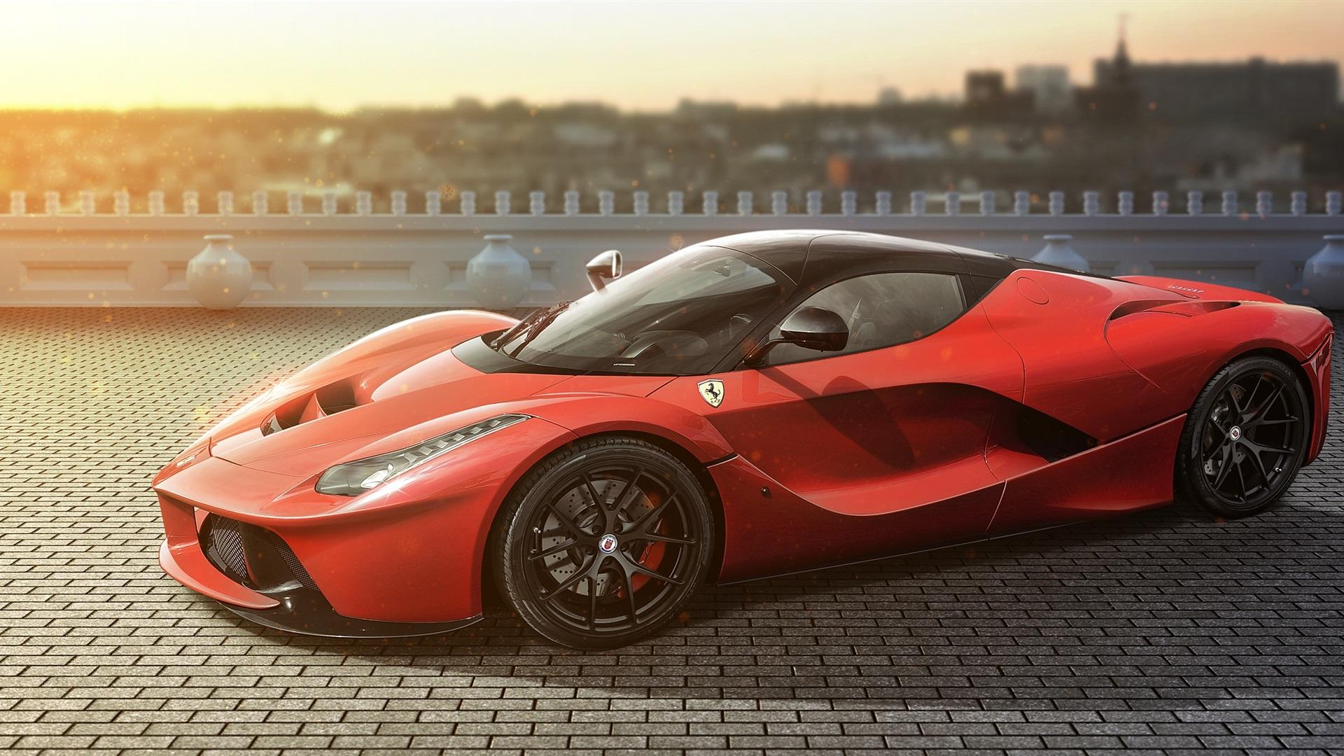 Ferrari Laferrari Wallpaper 4K