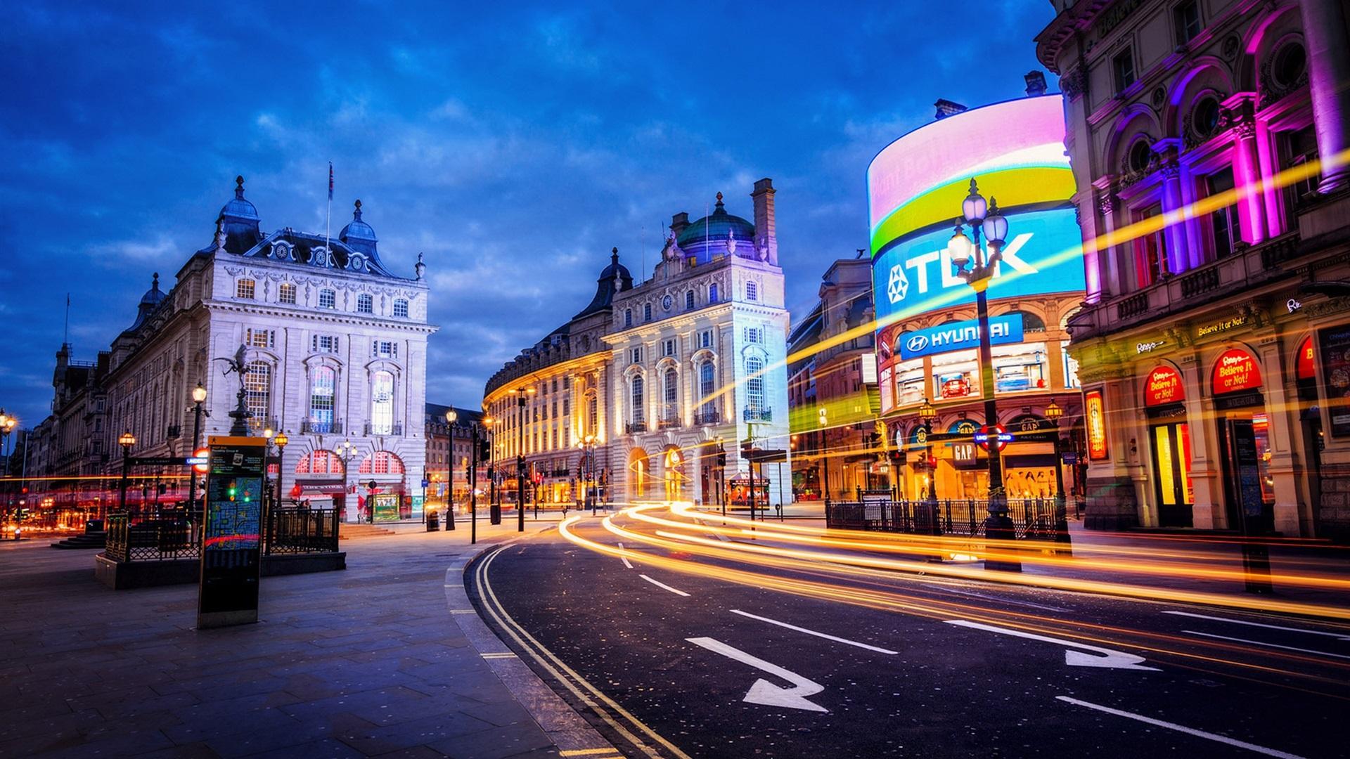 Hd wallpaper city - London England Stadt Stra 223 E Geb 228 Ude Licht Abend