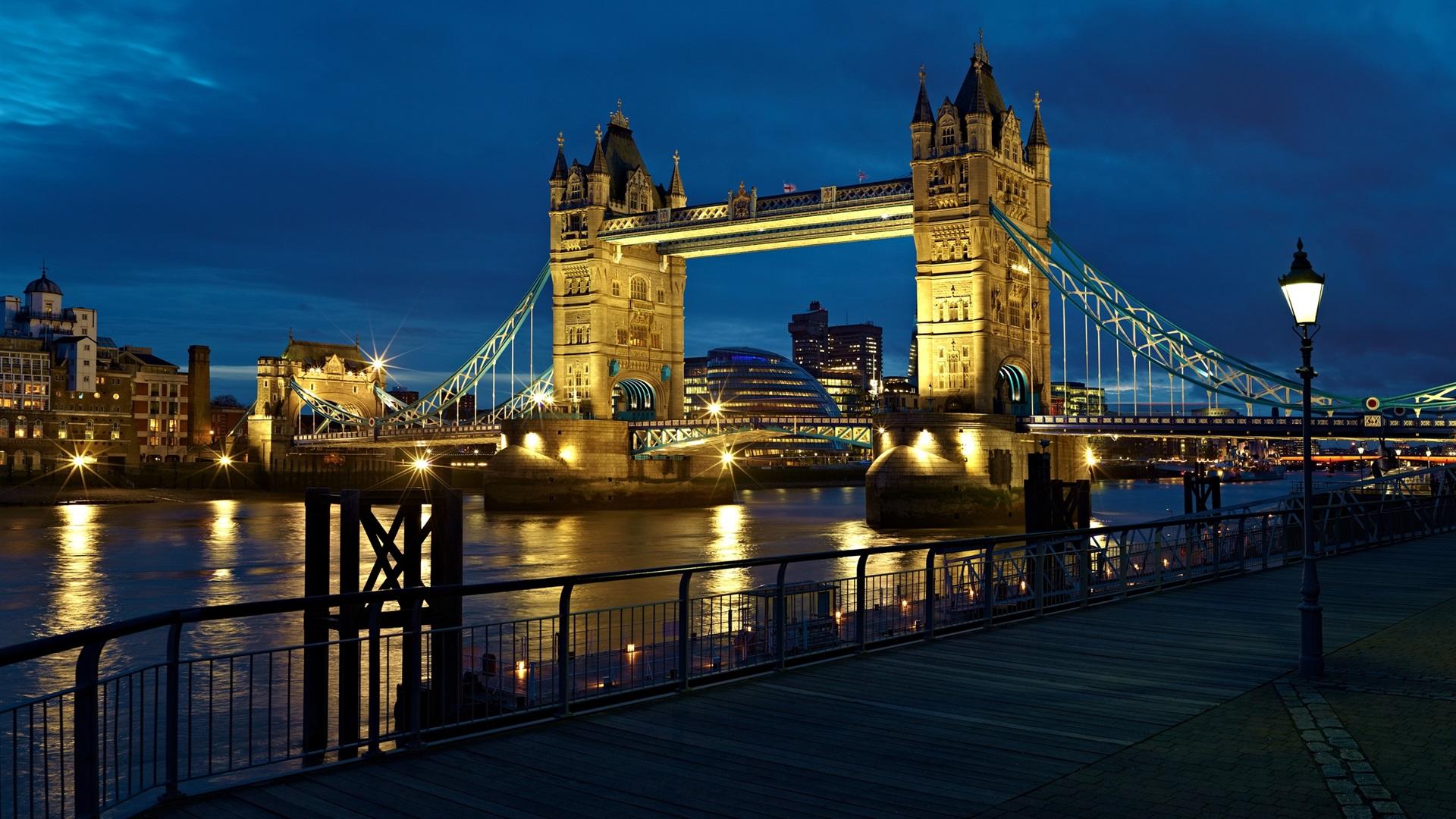 Hd wallpaper england - London England Stadt Den Fluss Themse Tower Bridge