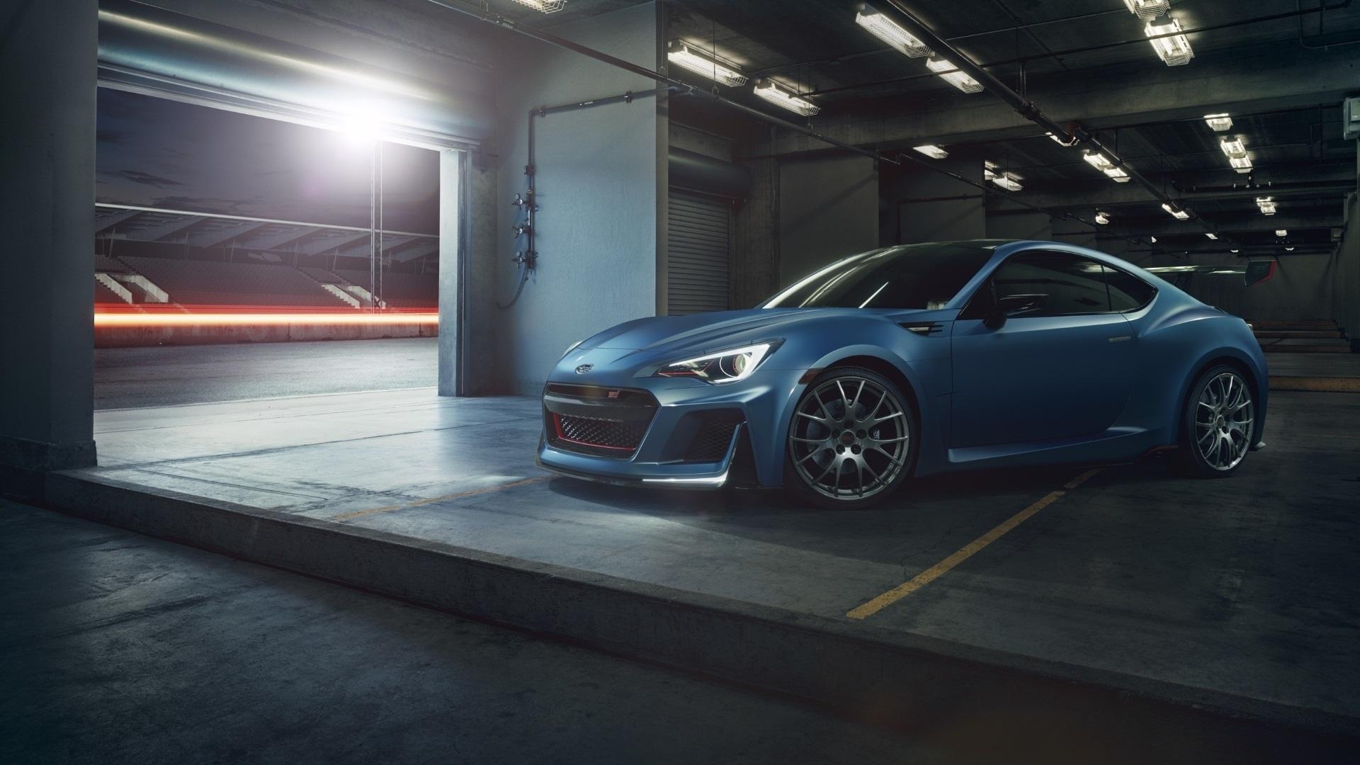壁紙 スバルbrz青い車 19x10 Hd 無料のデスクトップの背景 画像