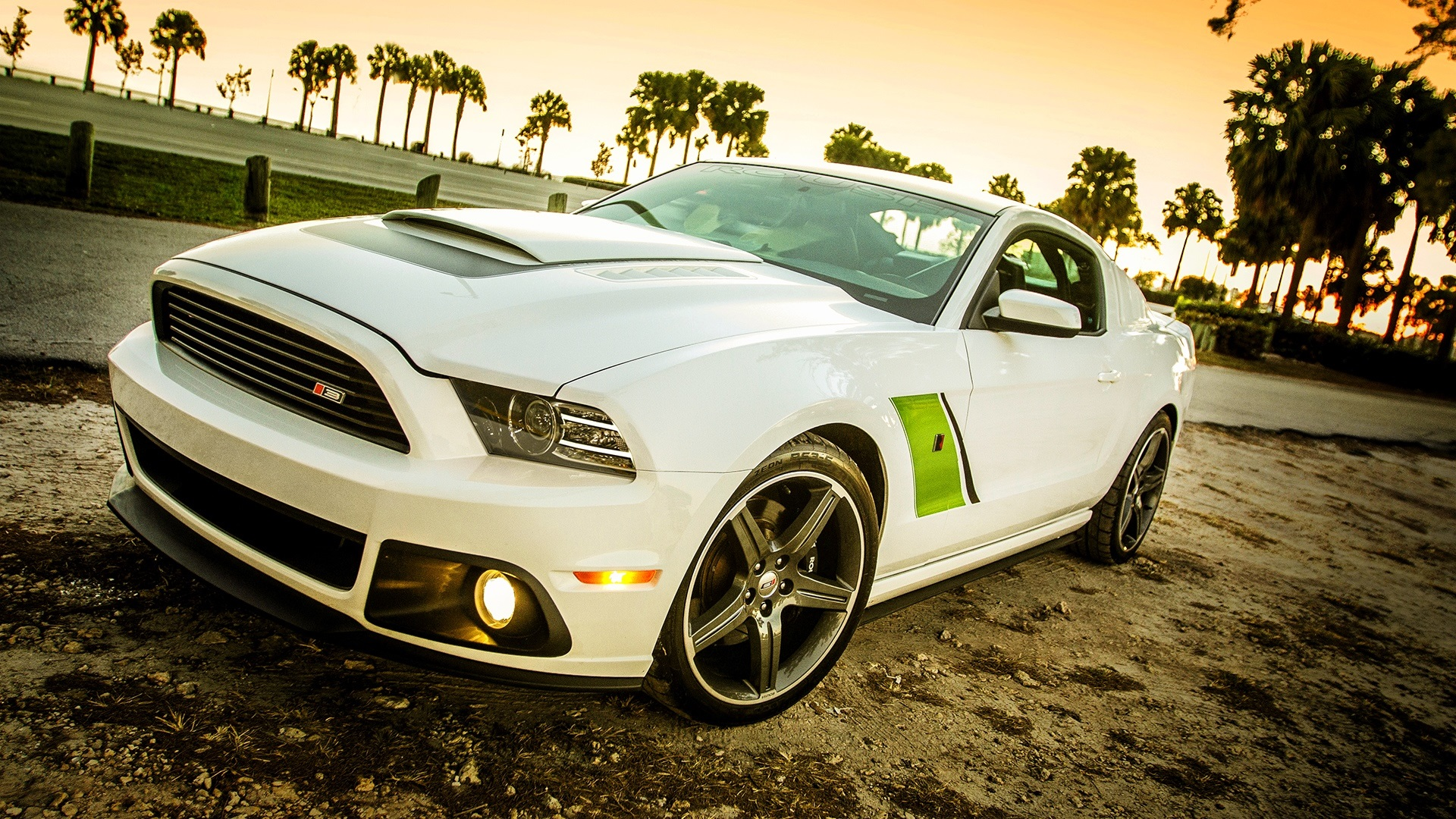 Roush Stage 3 Ford Mustang 2009 Wallpaper 1920x1080