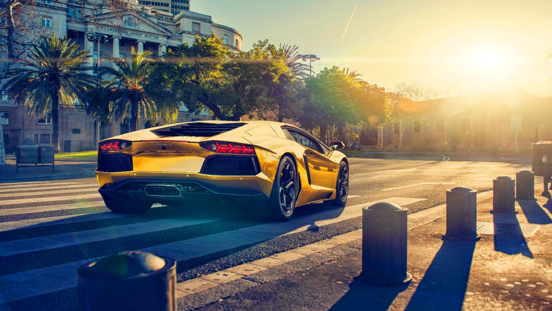 Download Wallpaper 1920x1080 Lamborghini Aventador Lp700 4