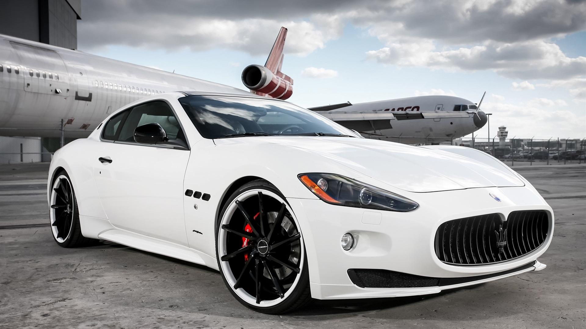 Maserati Sports Car Hd Wallpaper