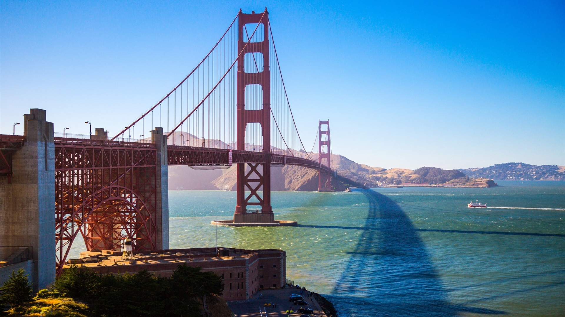 Fonds Décran Golden Gate Bridge San Francisco Etats Unis
