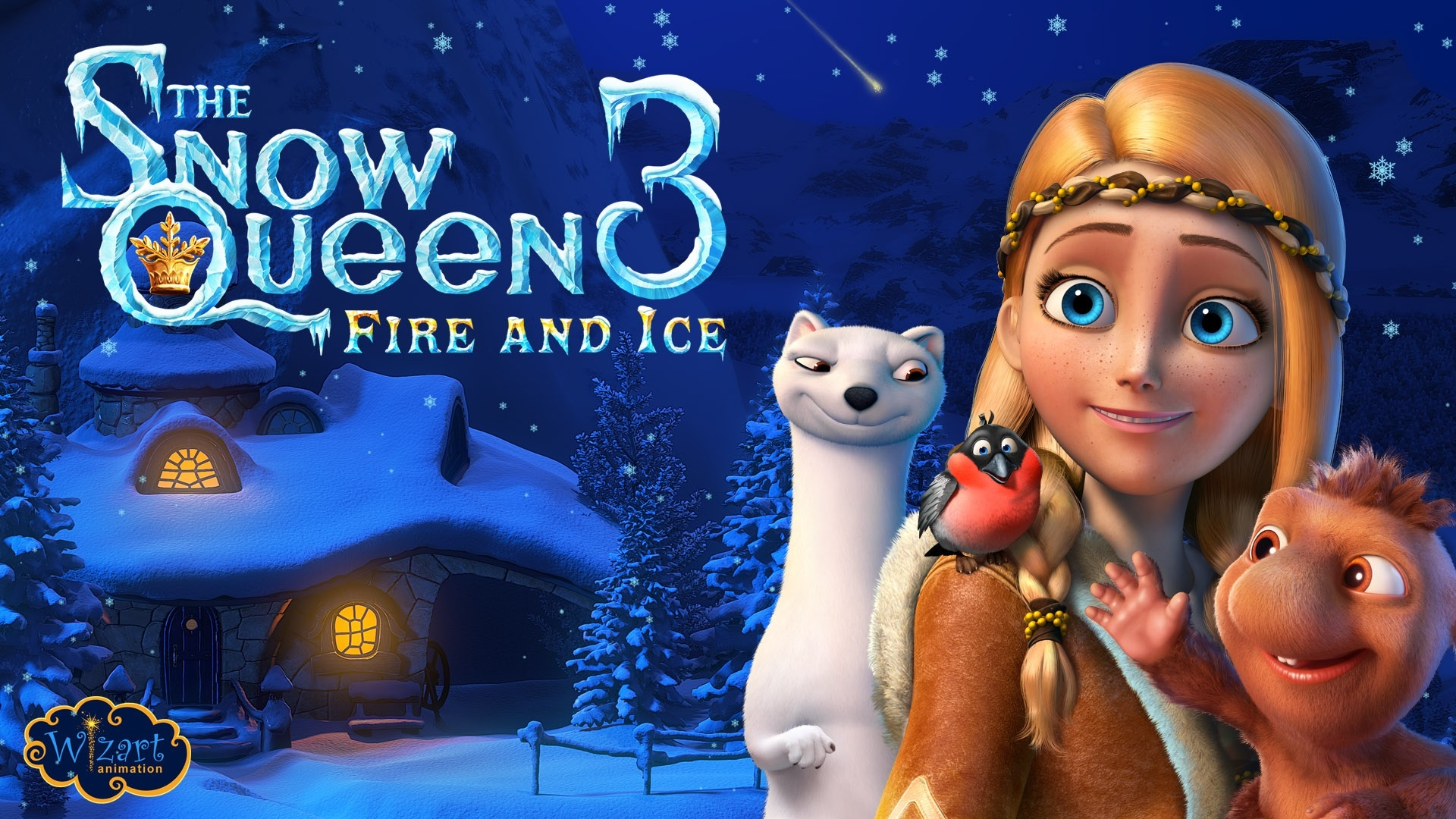 Wallpaper The Snow Queen 3 Fire And Ice 1920x1080 Full Hd 2k
