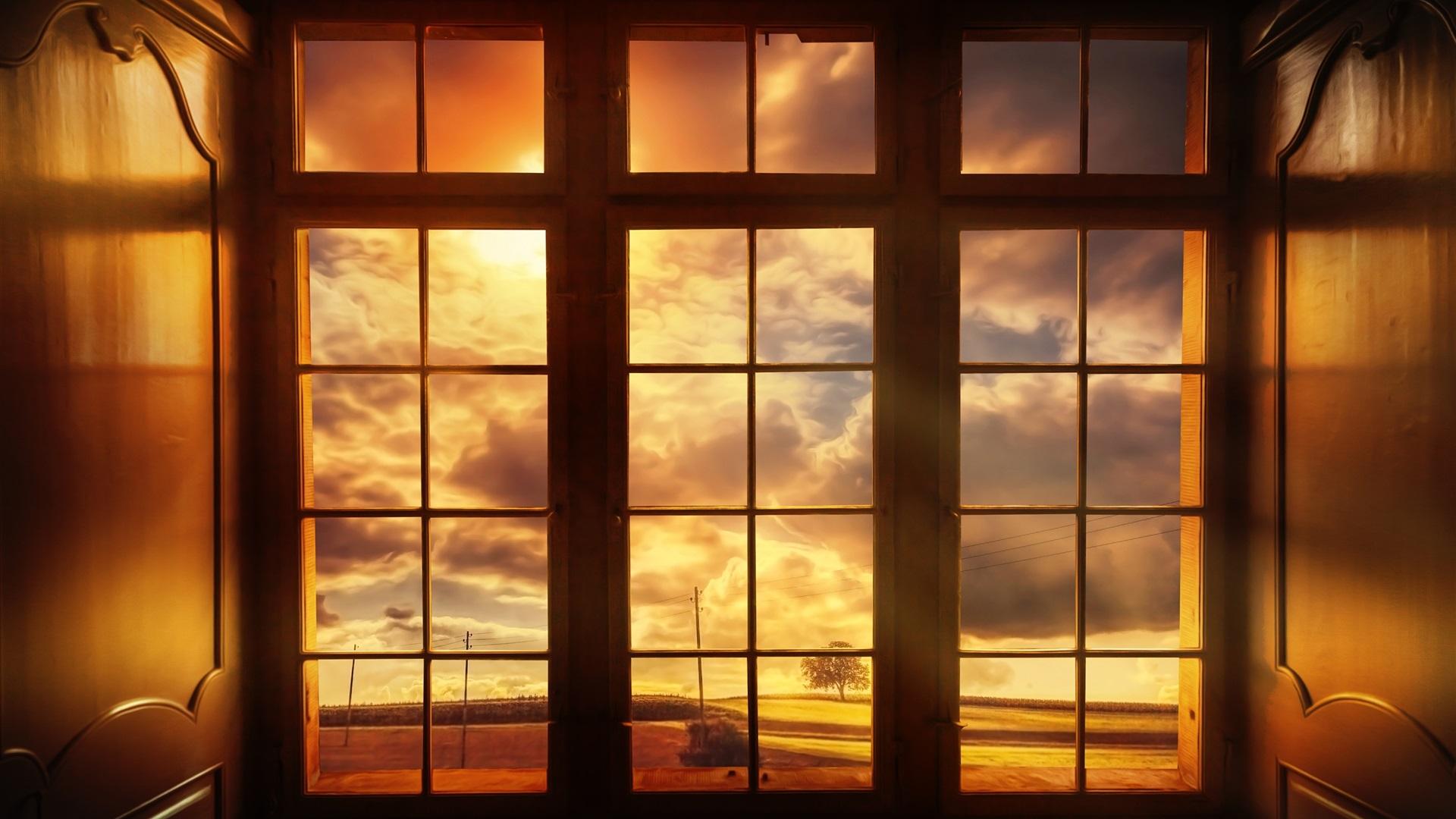 Окно за пределами рабочего стола