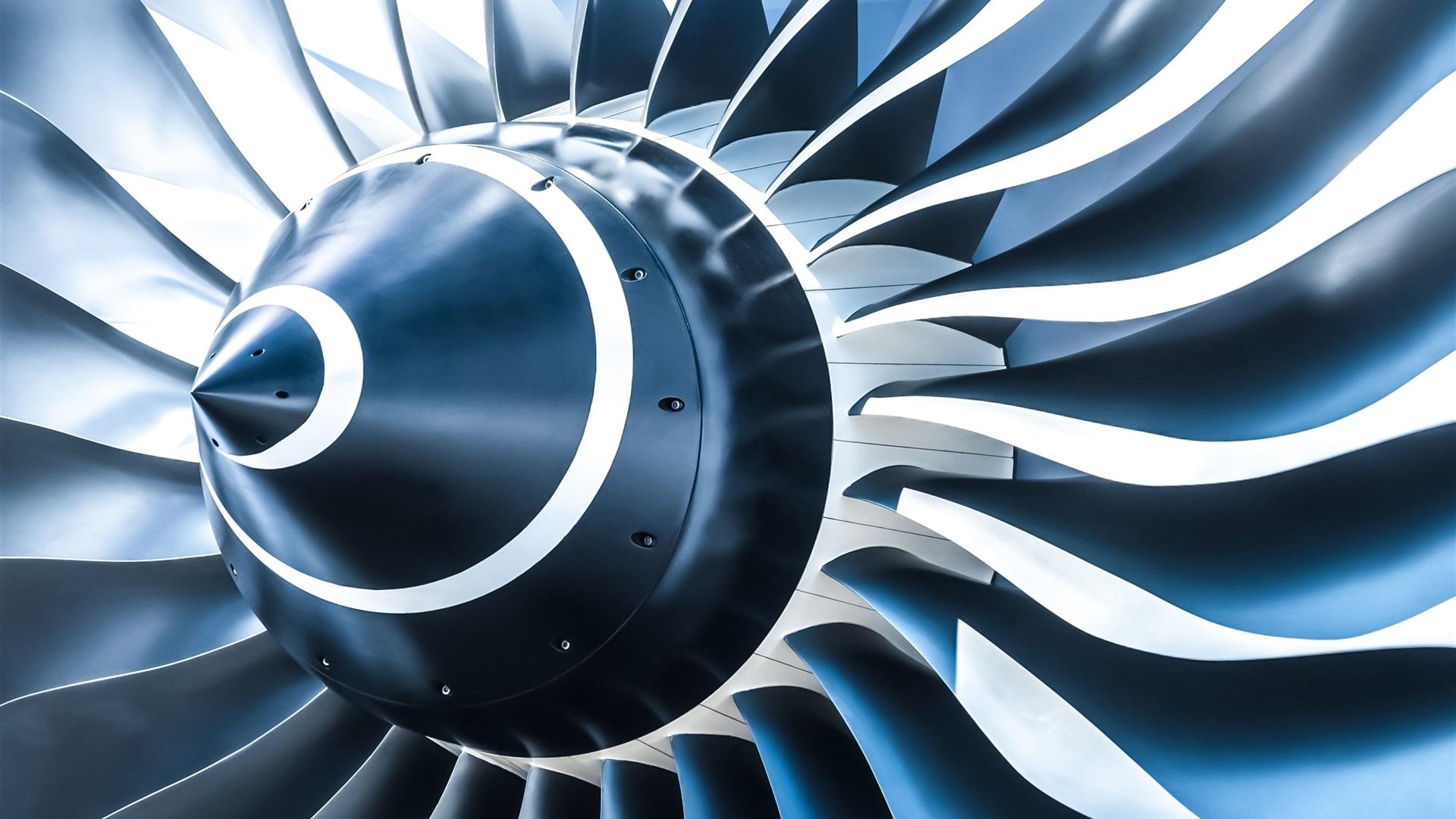 Wallpaper Turboprop Jet Engine Aircraft 3d 2560x1600