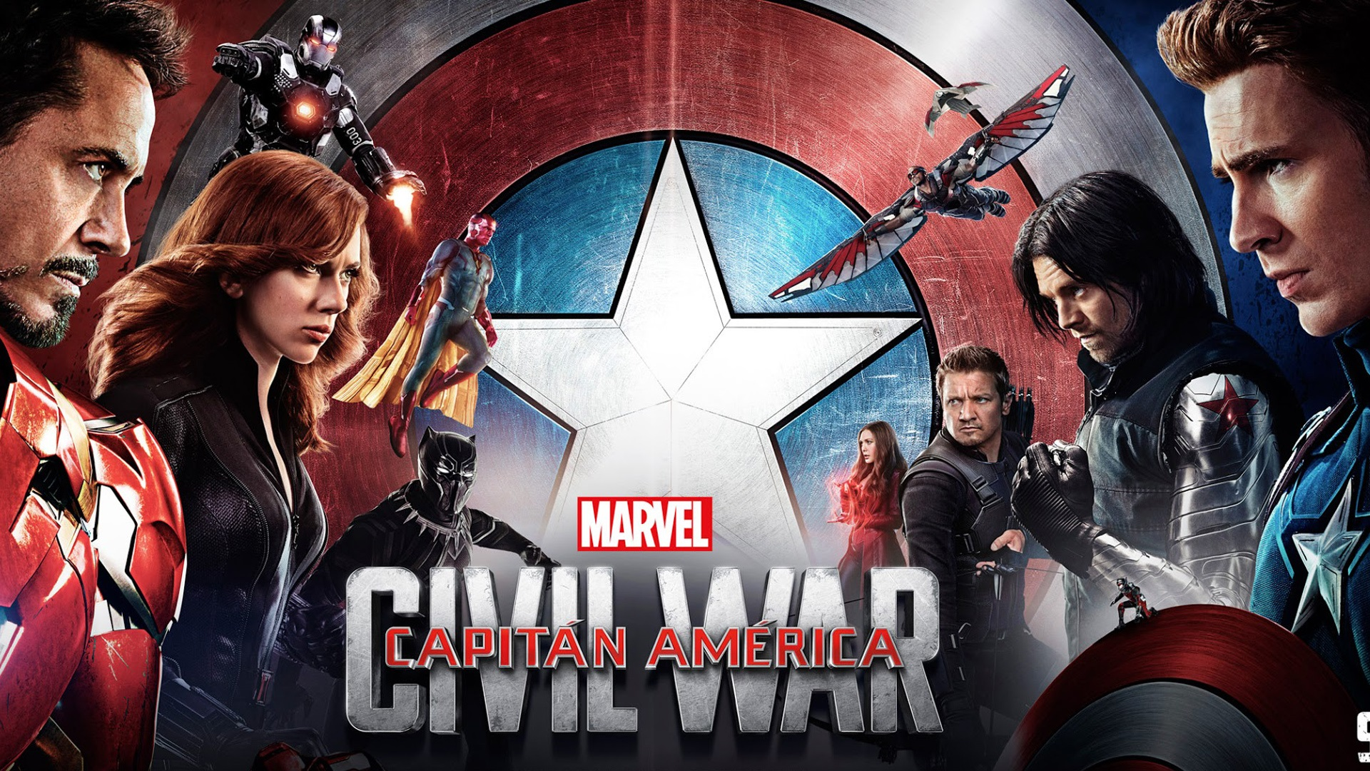 Wallpaper 2016 Movie Captain America Civil War HD 1920x1080 Full