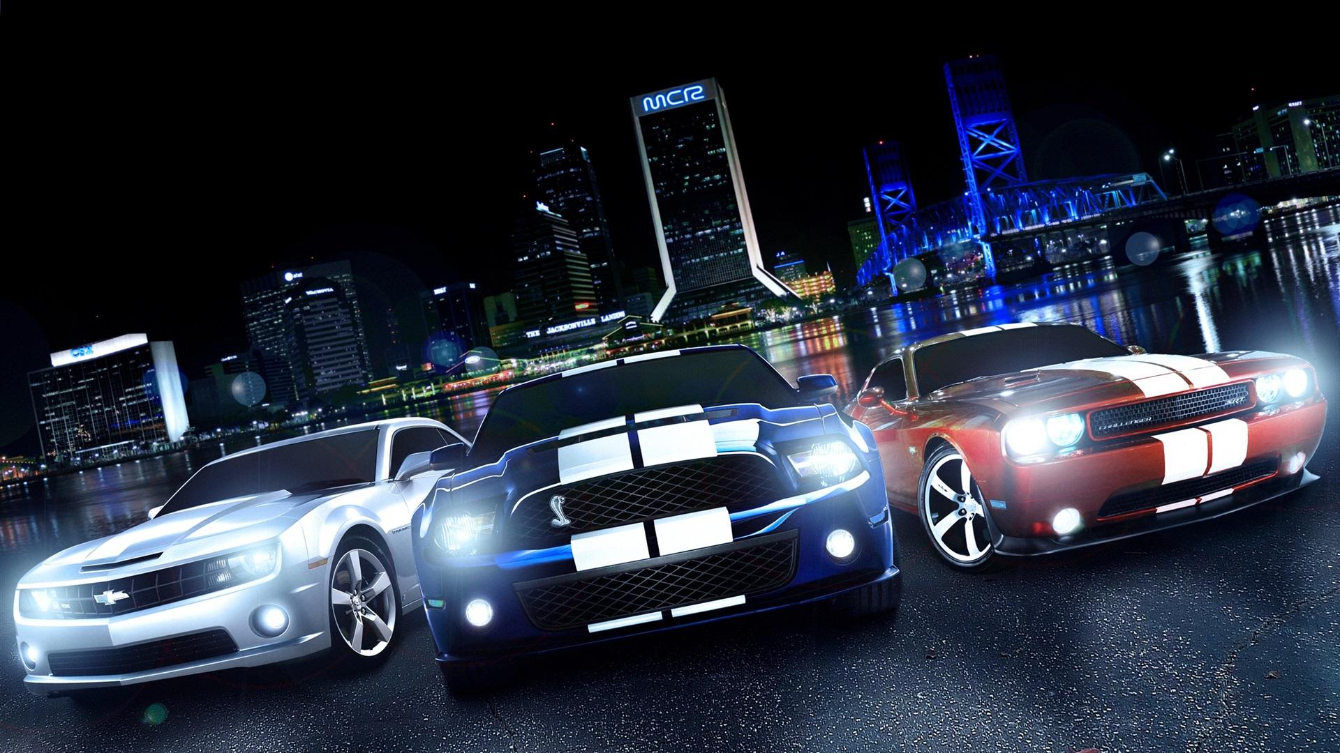 Dodge Challenger Ford Mustang Chevrolet Camaro