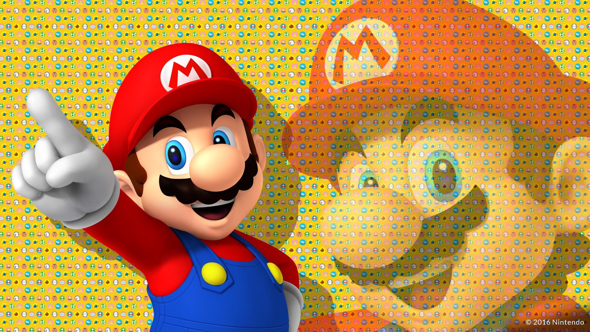 壁紙 任天堂のゲーム スーパーマリオ 1920x1080 Full Hd 2k 無料の