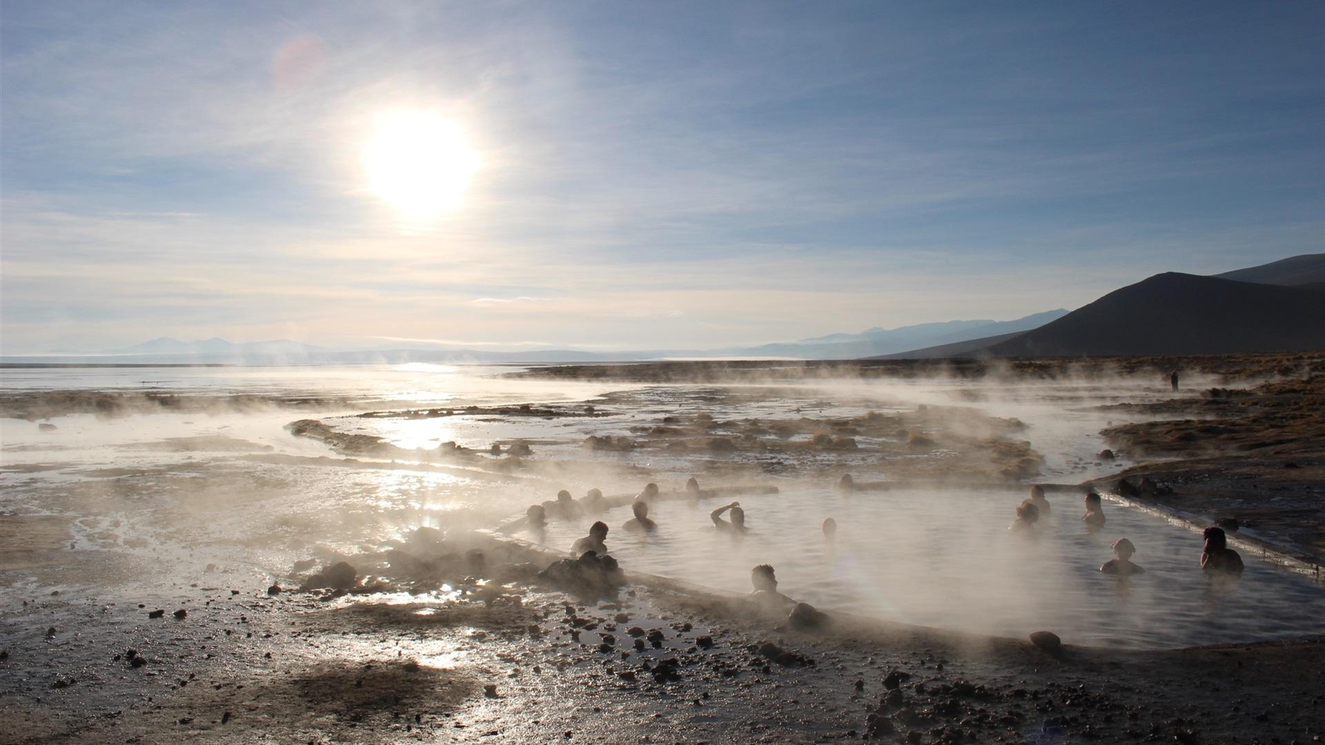 壁紙 ウユニ塩湖、日、温泉、日本 2560x1600 HD 無料のデスクトップの背景, 画像