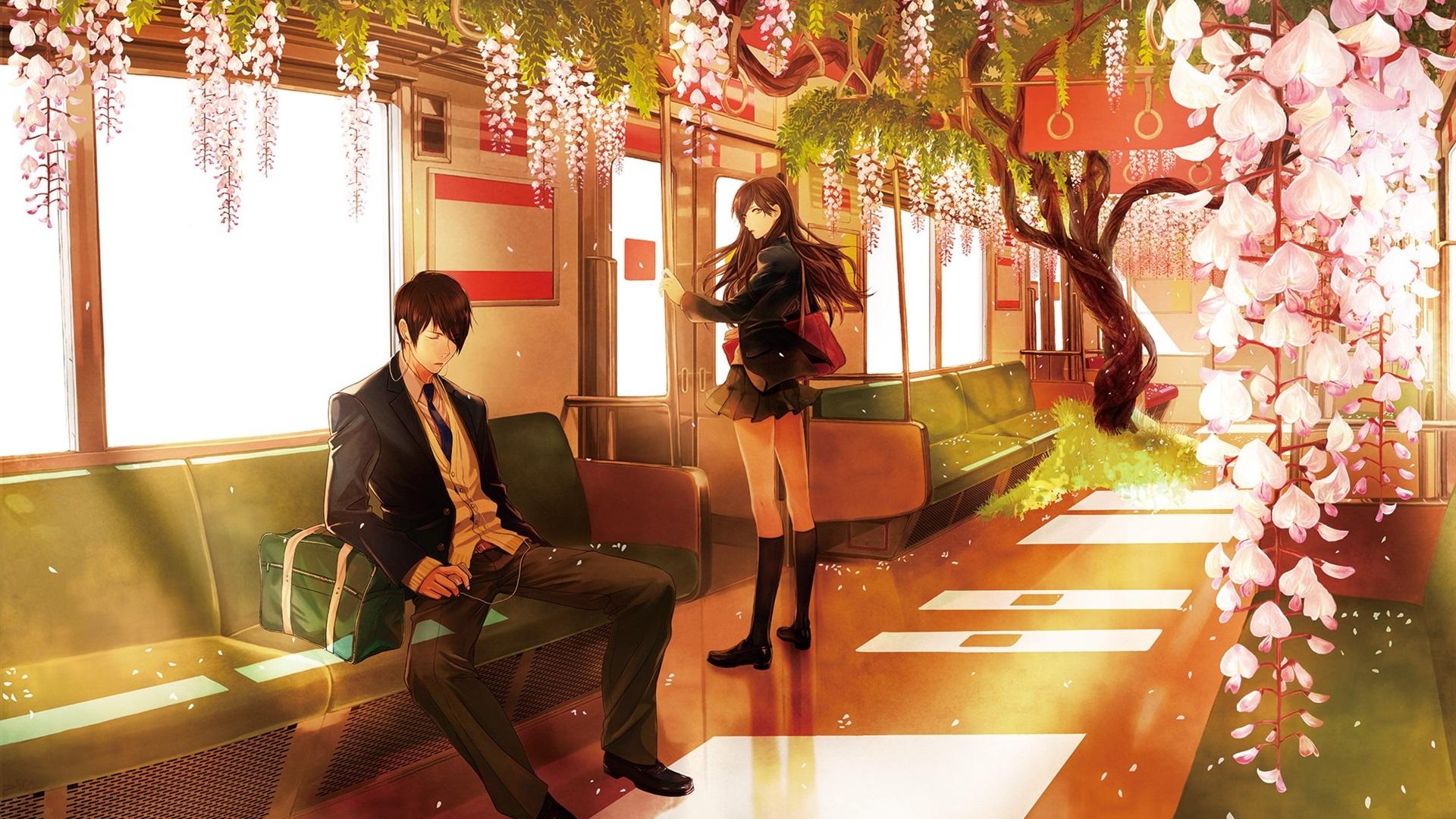 Anime über junge dating-mädchen mit silbernen haaren