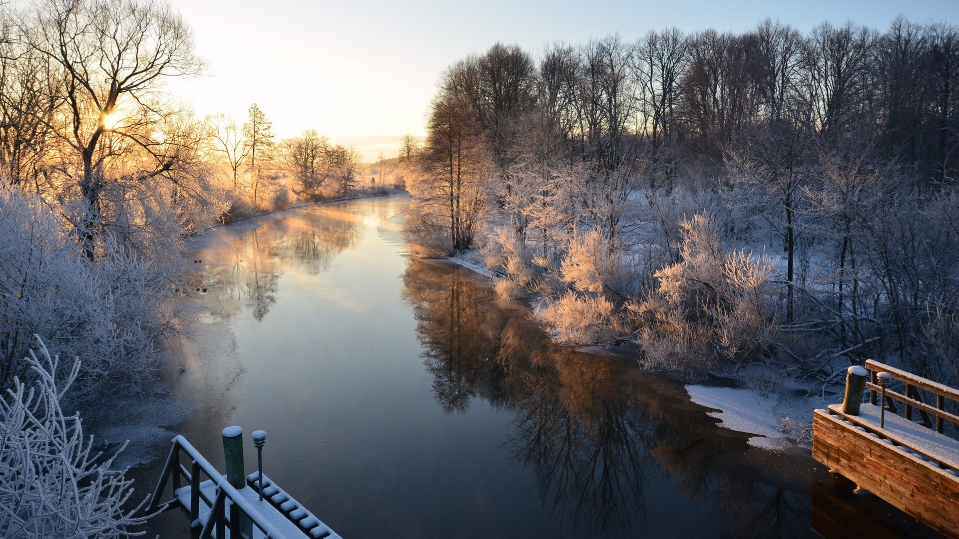 snow scenery full hd - photo #1