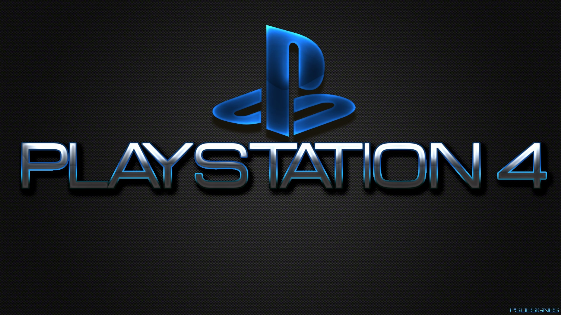 playstation 4 logo, sony 1920x1080 full hd hintergrundbilder, hd, bild