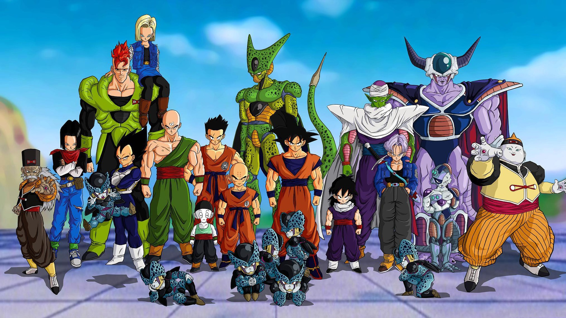 an analysis of think of dragon ball z as an anime series from japan Db z is one of the most excited anime series i have ever seen in db z we can never think anything if where can i watch dragon ball and dragon ball z in the.