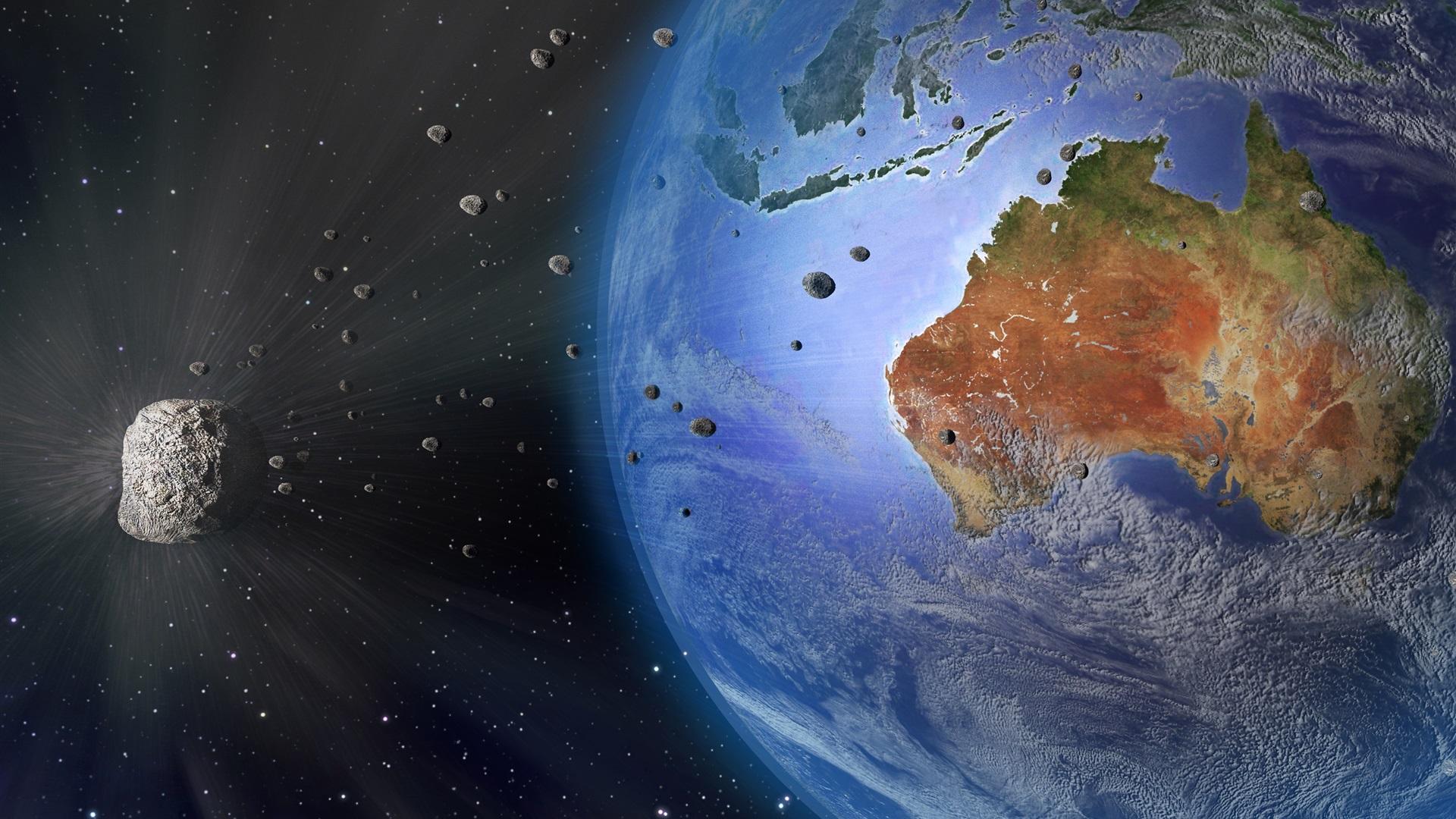 Wallpaper earth australia meteorite space 3840x2160 uhd - Space 4k phone wallpaper ...