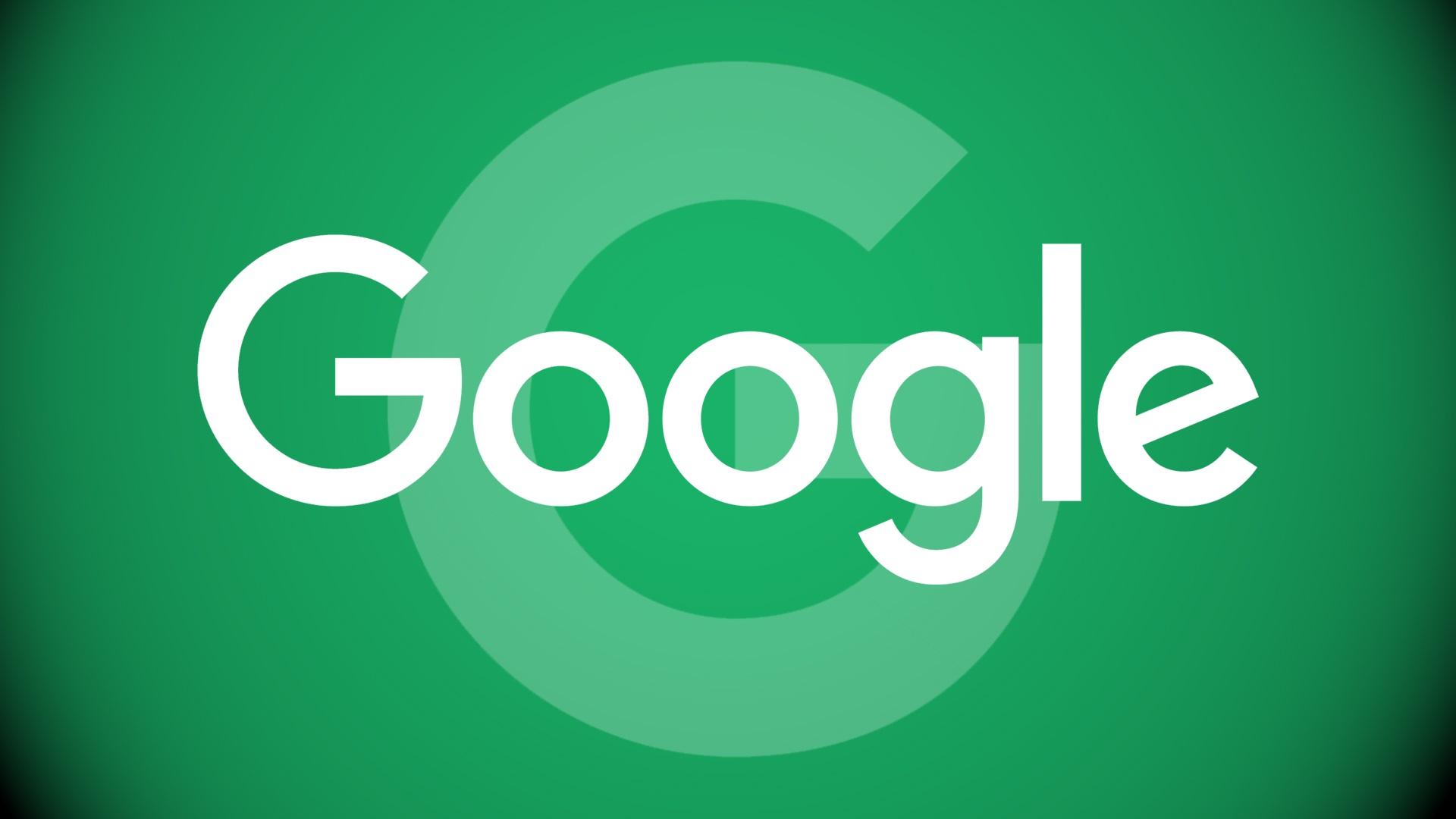壁紙 Googleロゴ 緑の背景 1920x1080 Full Hd 2k 無料のデスクトップ