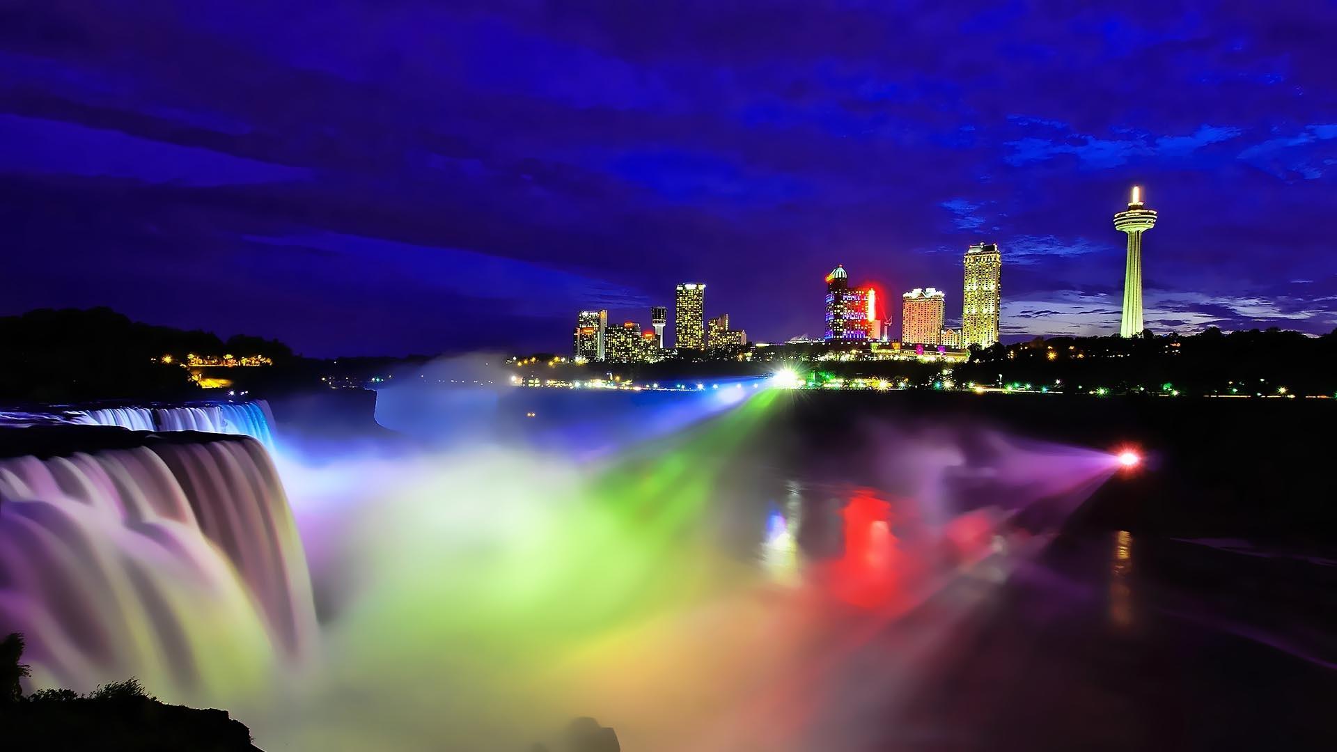 Download Wallpaper Night Colorful - Niagara-Falls-night-view-Canada-colorful-light-city_1920x1080  Image.jpg