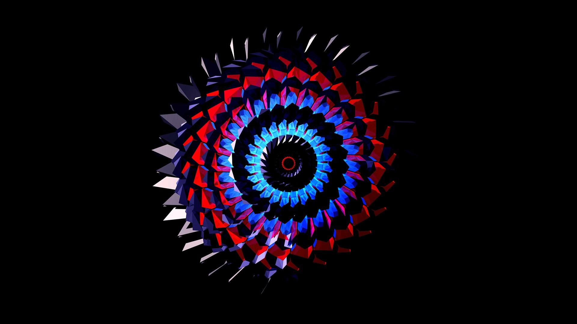 1920x1080 Abstracto Full Hd 1920x1080: Fondos De Pantalla Modelo Abstracto, Espiral, Fondo De