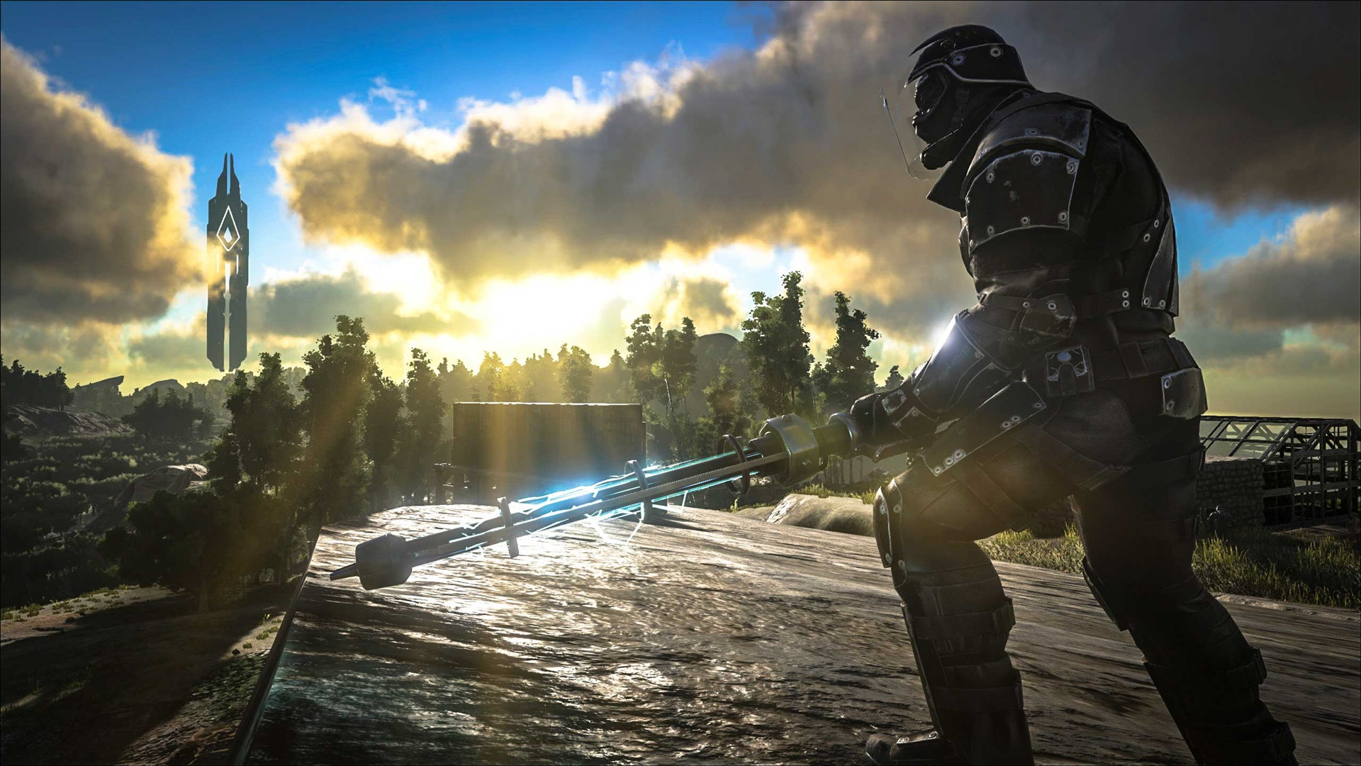 Wallpaper Ark Survival Evolved Soldier 2560x1440 Qhd Picture Image
